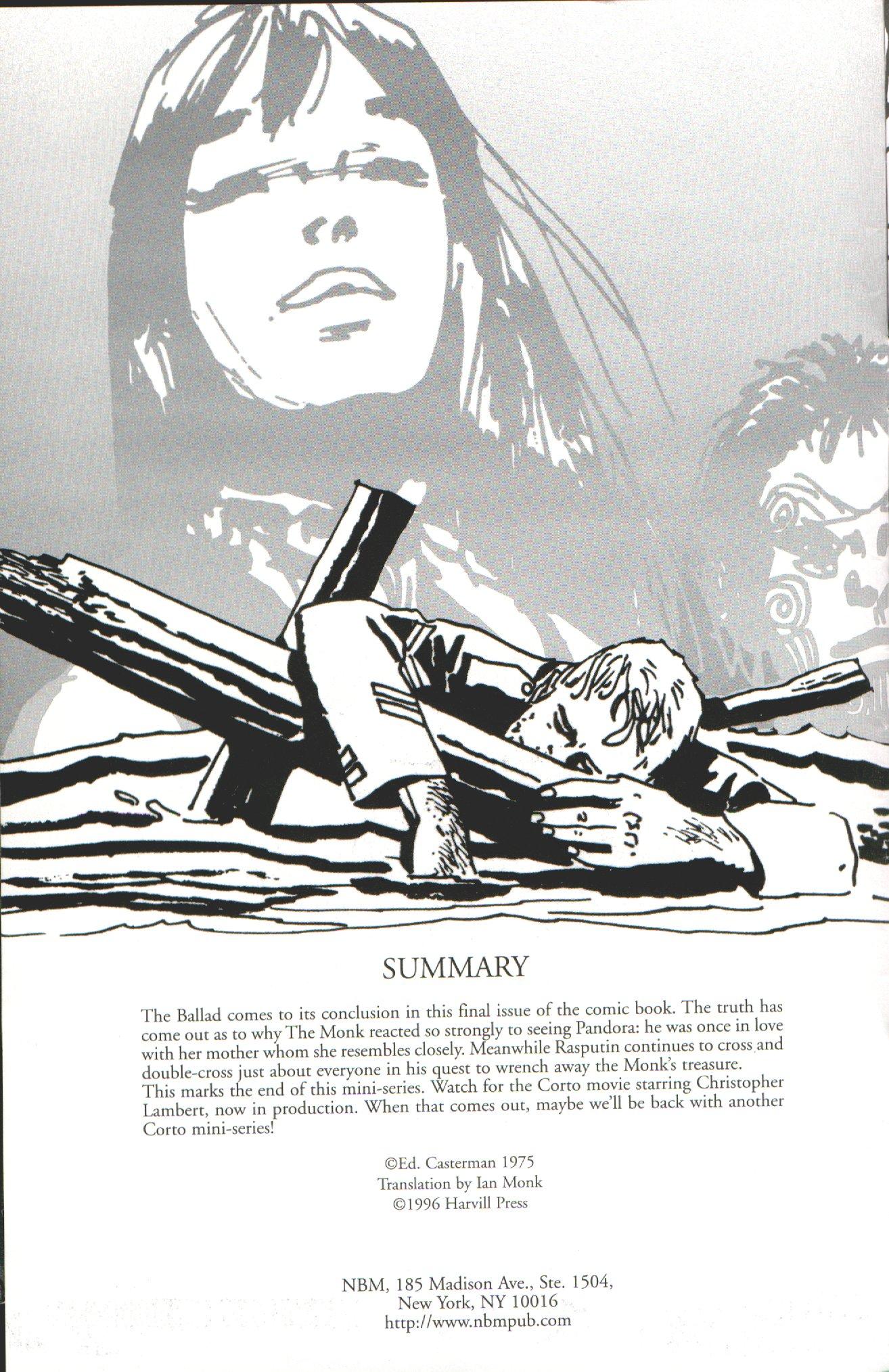 Read online Corto Maltese: Ballad of the Salt Sea comic -  Issue #7 - 2