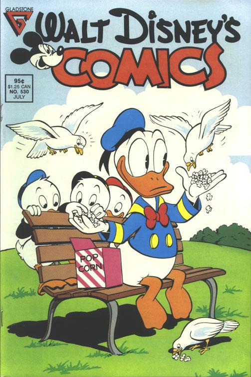 Walt Disneys Comics and Stories 530 Page 1