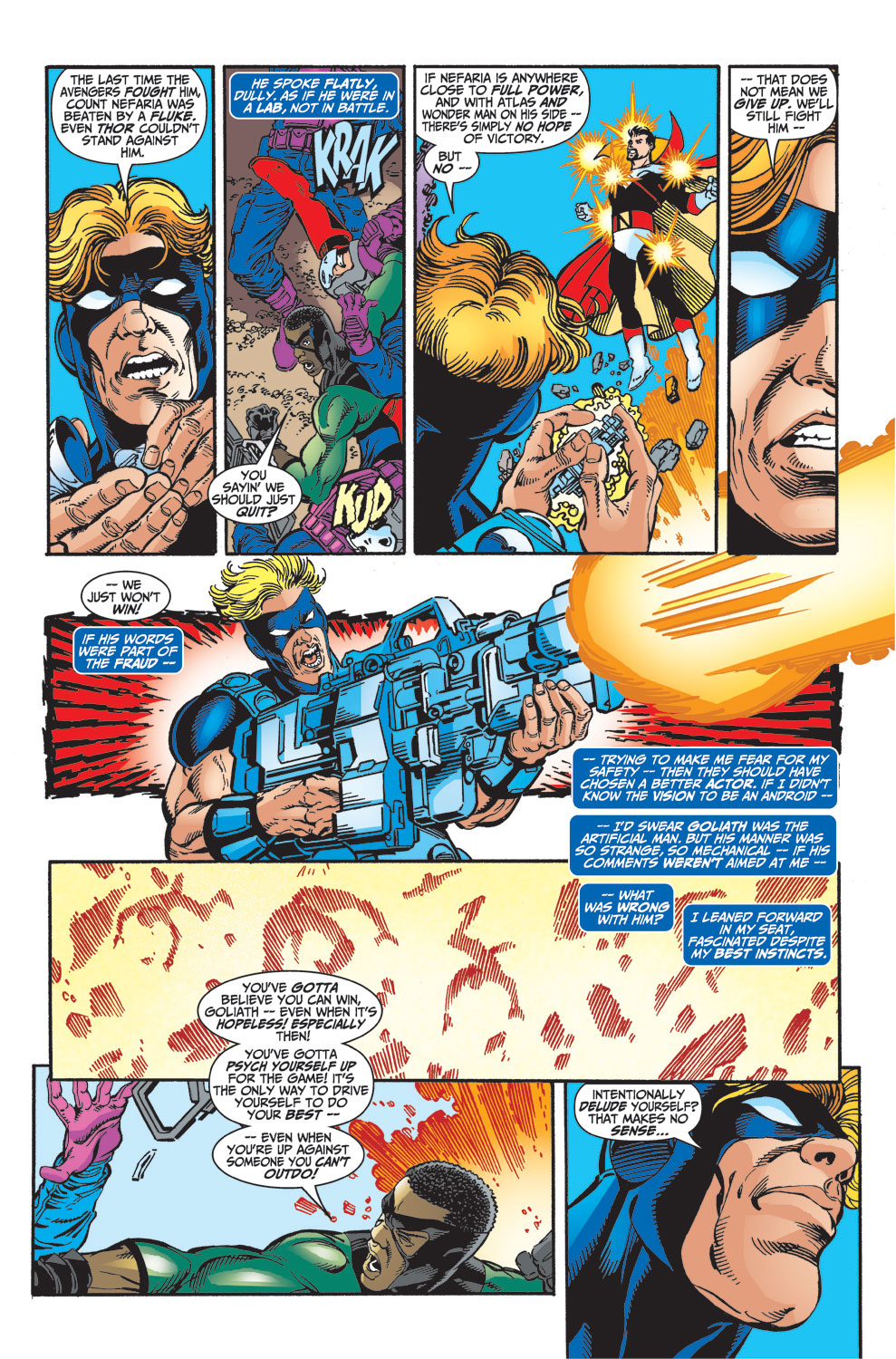 Read online Avengers (1998) comic -  Issue #33 - 6