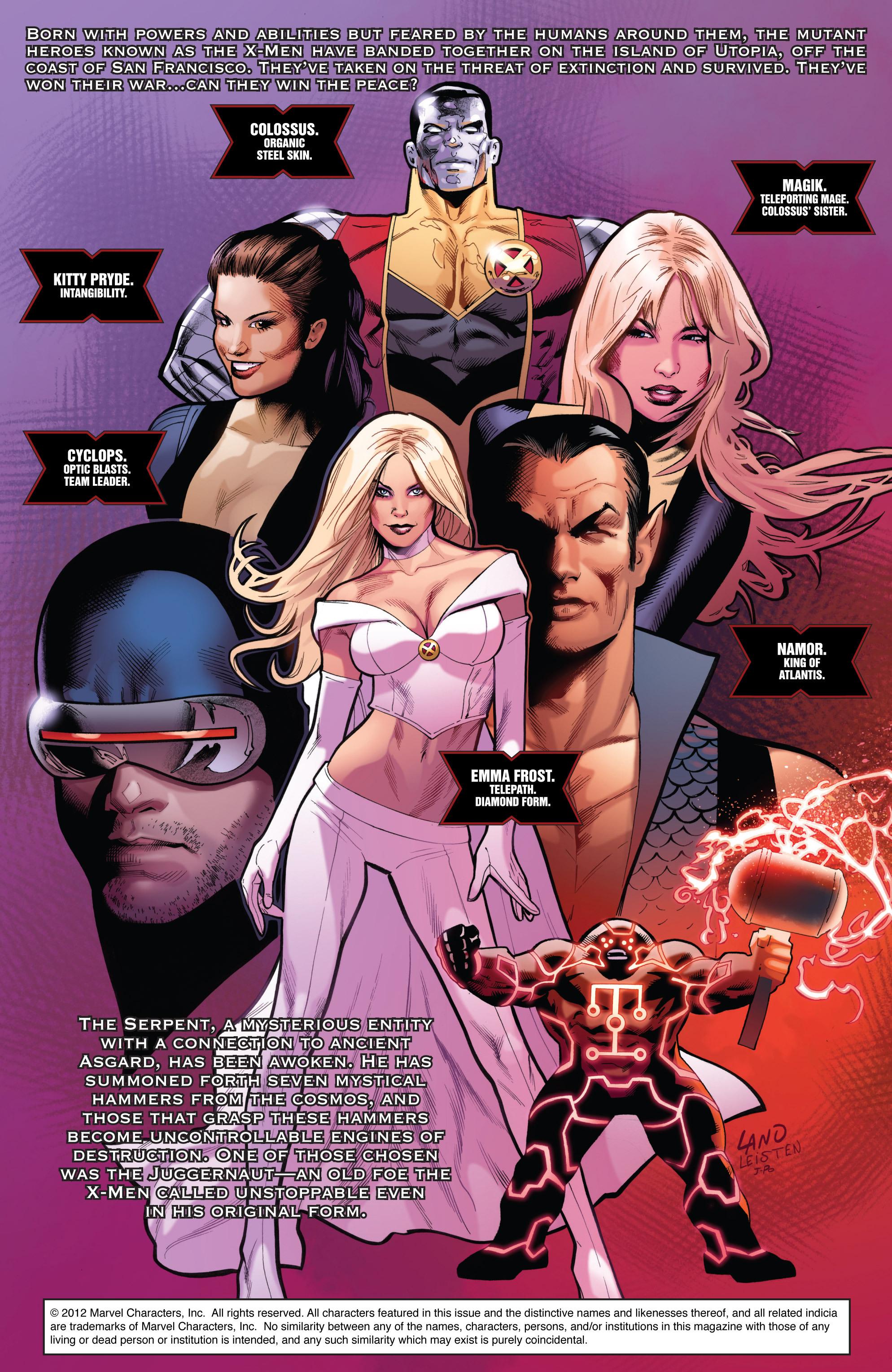 Read online Uncanny X-Men (1963) comic -  Issue #540 - 2