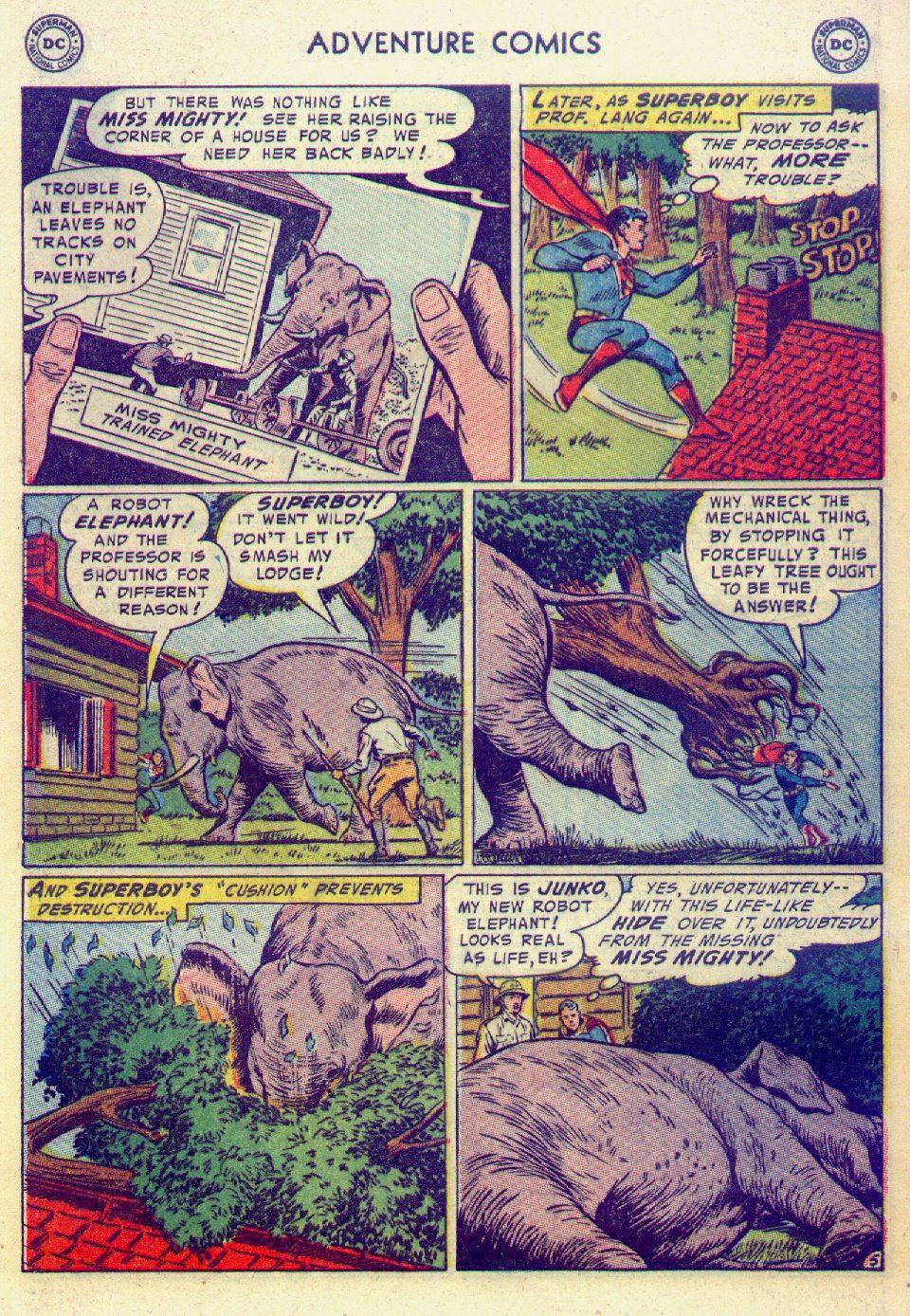 Read online Adventure Comics (1938) comic -  Issue #201 - 7