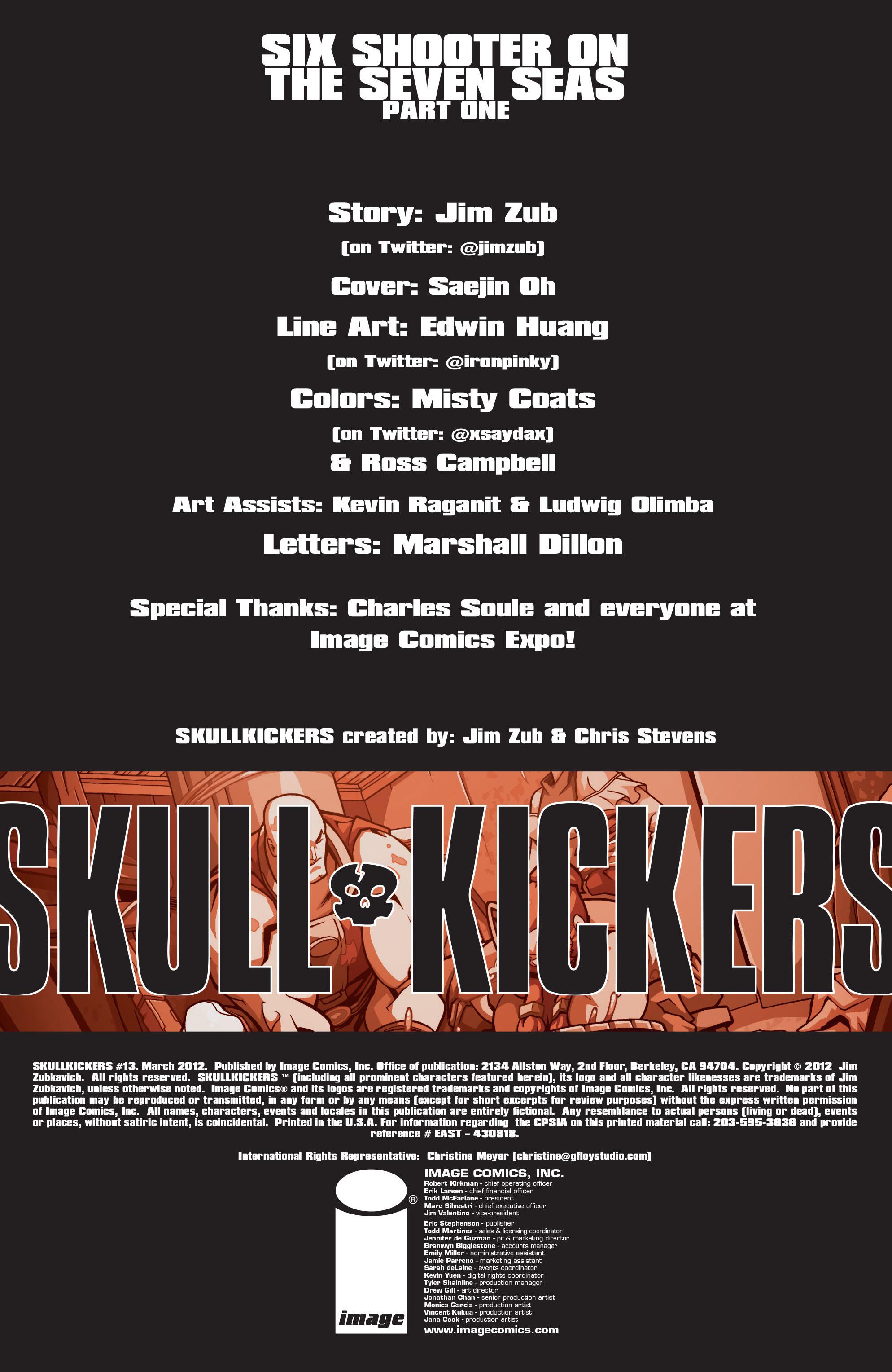 Read online Skullkickers comic -  Issue #13 - 2