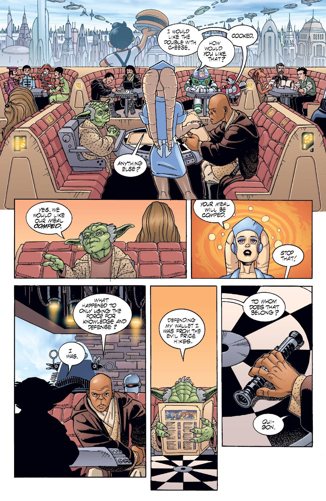 Read online Star Wars Legends: Rise of the Sith - Epic Collection comic -  Issue # TPB 2 (Part 5) - 69