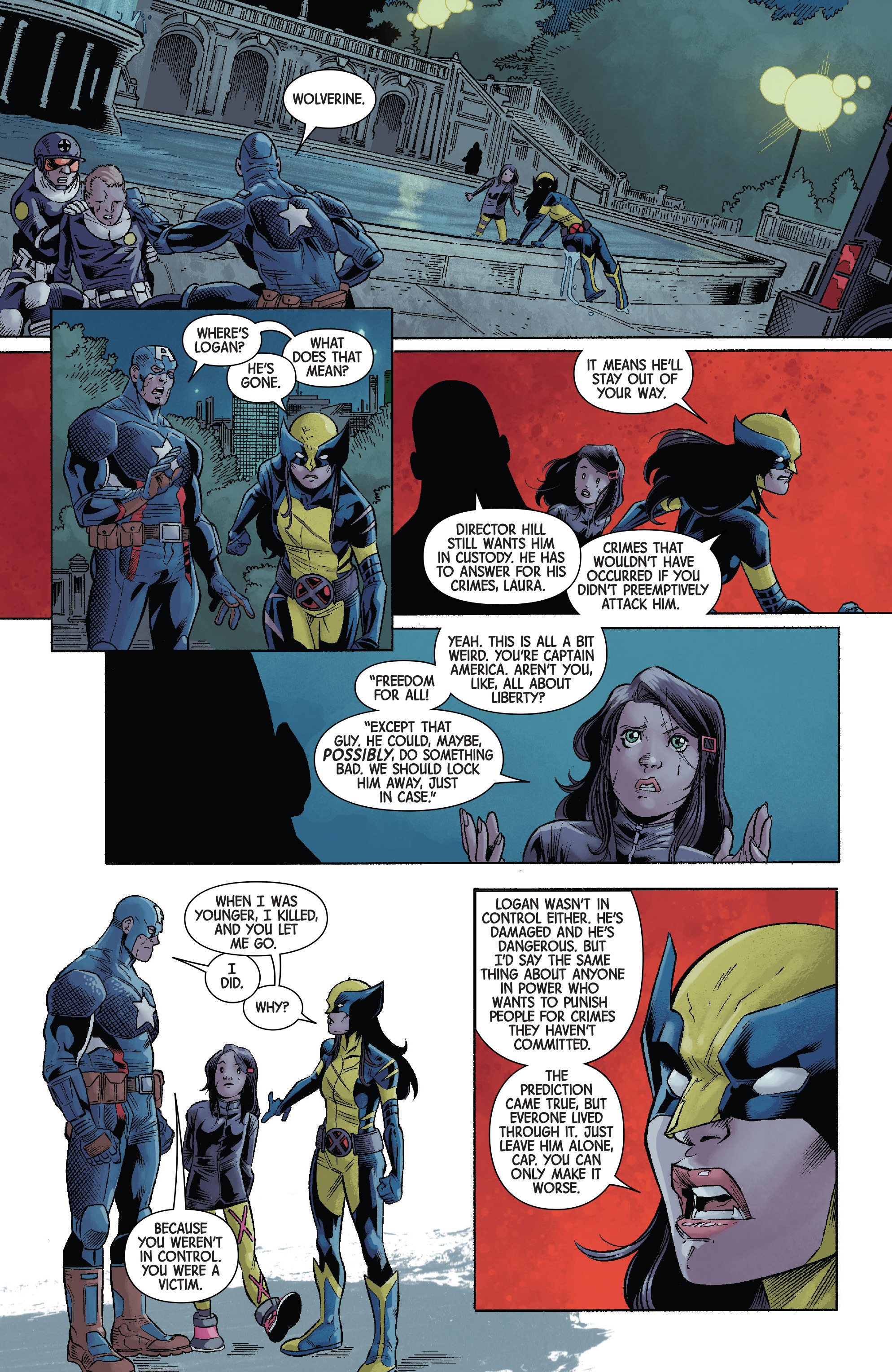 Read online All-New Wolverine (2016) comic -  Issue #12 - 20