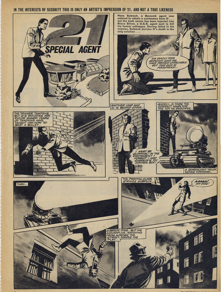 Read online TV Century 21 (TV 21) comic -  Issue #79 - 2