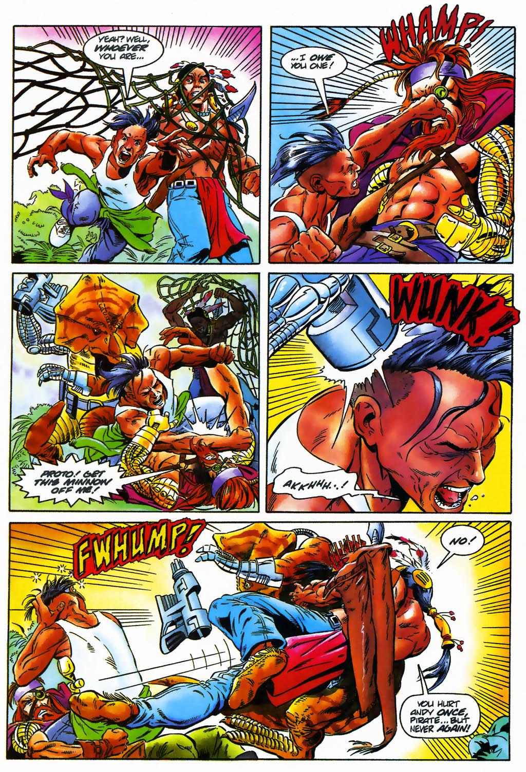Read online Turok, Dinosaur Hunter (1993) comic -  Issue #26 - 4