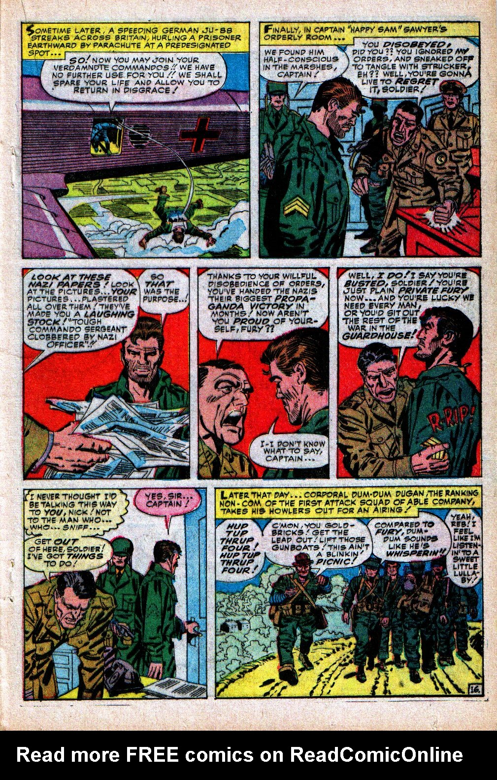 Read online Sgt. Fury comic -  Issue #5 - 21