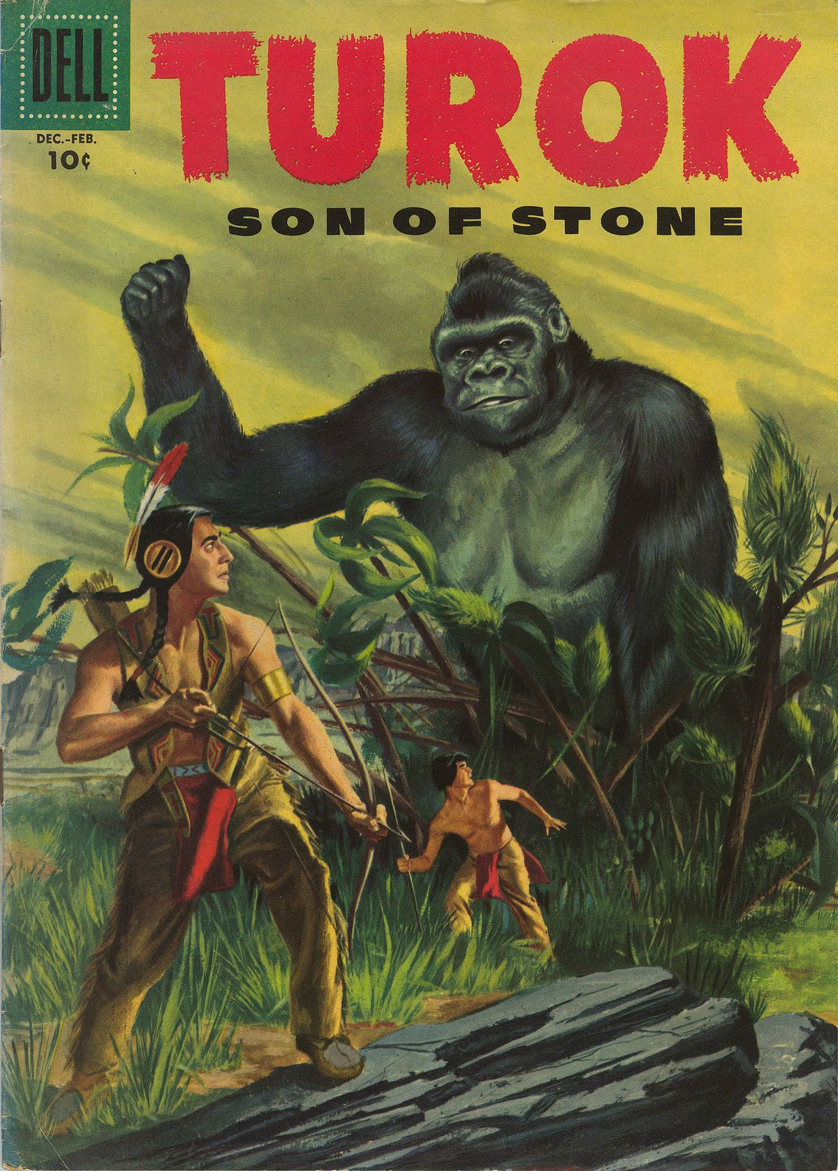 Read online Turok, Son of Stone comic -  Issue #6 - 1