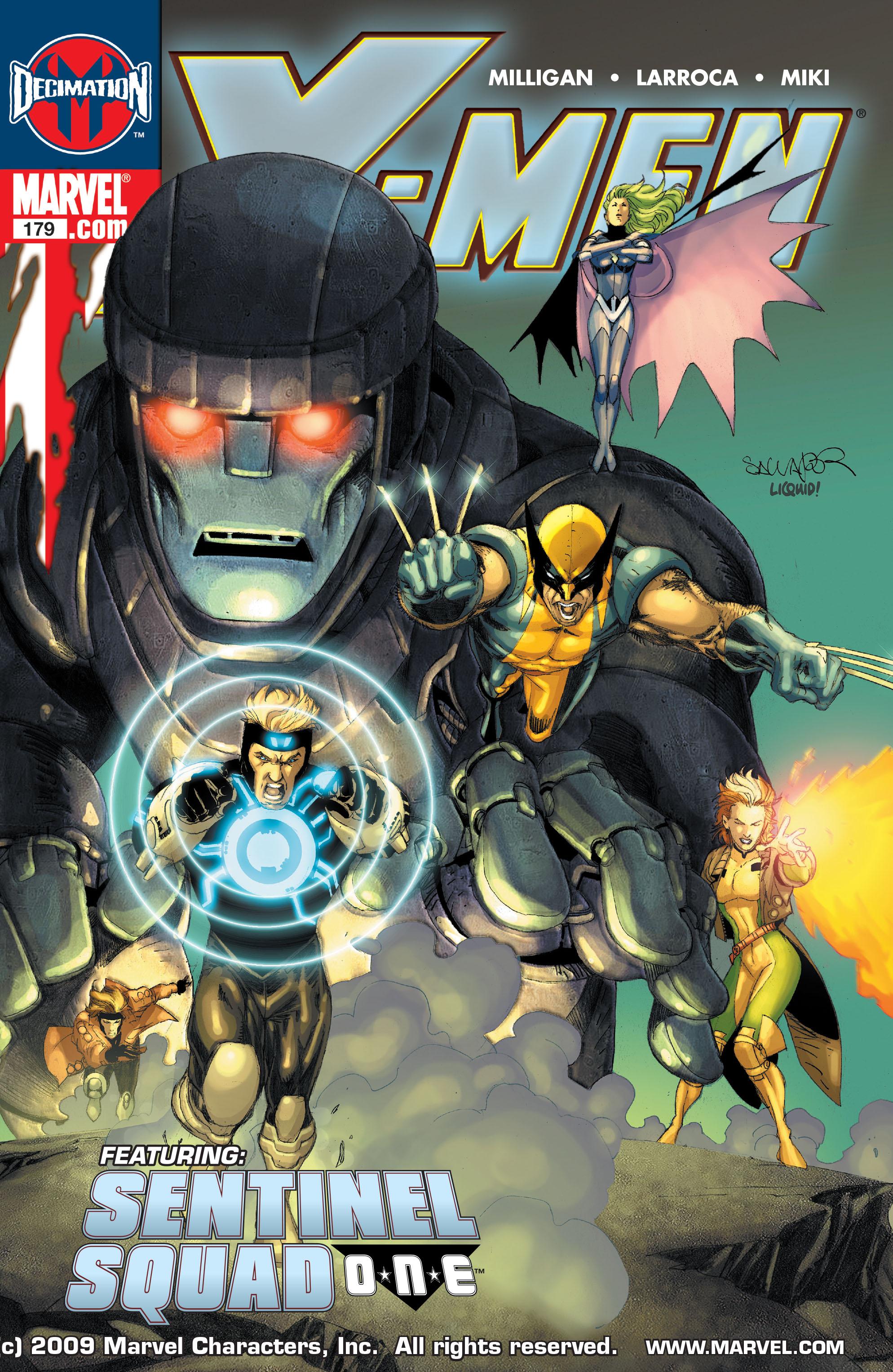 X-Men (1991) 179 Page 0
