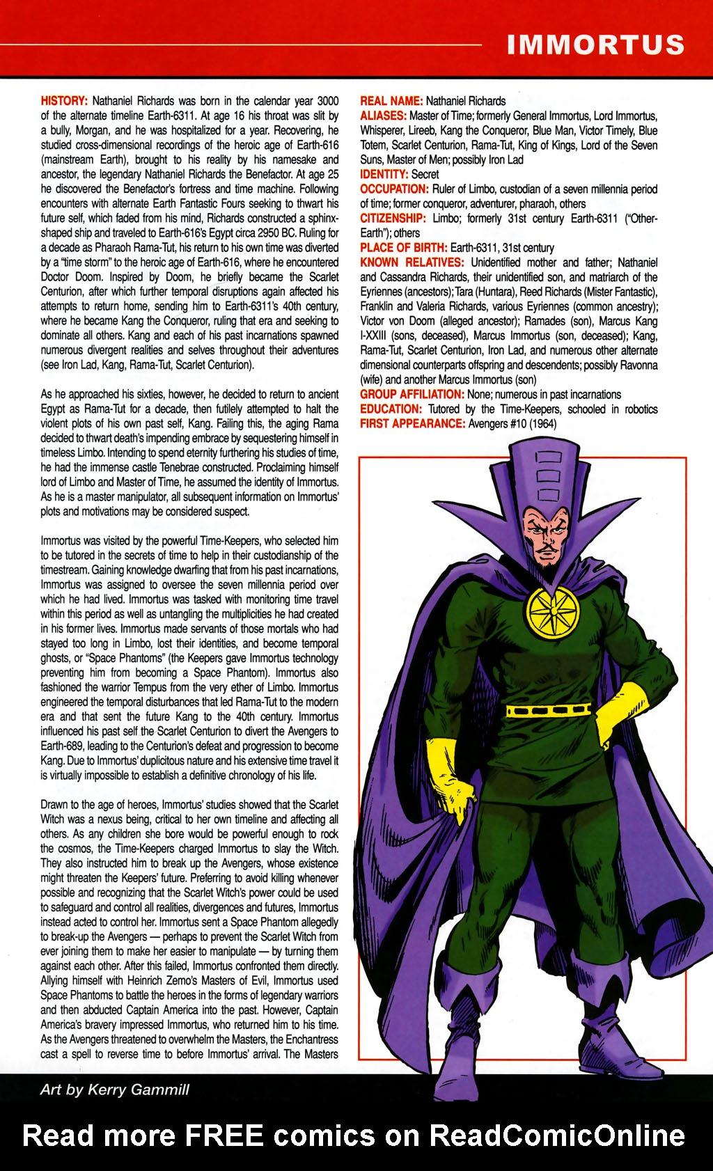 Read online All-New Official Handbook of the Marvel Universe A to Z comic -  Issue #5 - 49