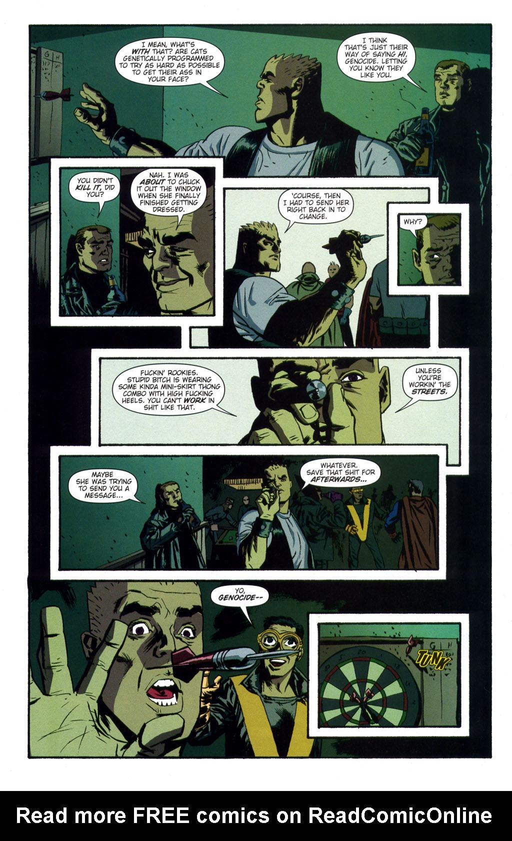 Read online Sleeper comic -  Issue #9 - 12
