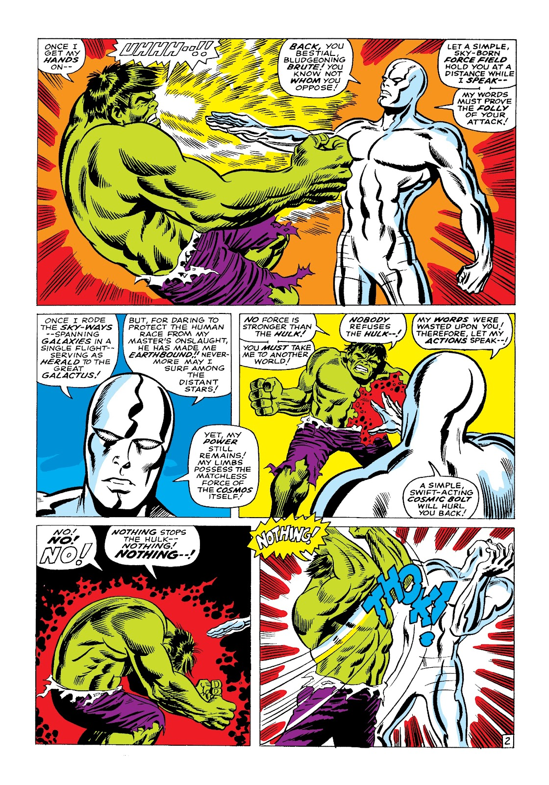 Read online Marvel Masterworks: The Incredible Hulk comic -  Issue # TPB 3 (Part 2) - 52