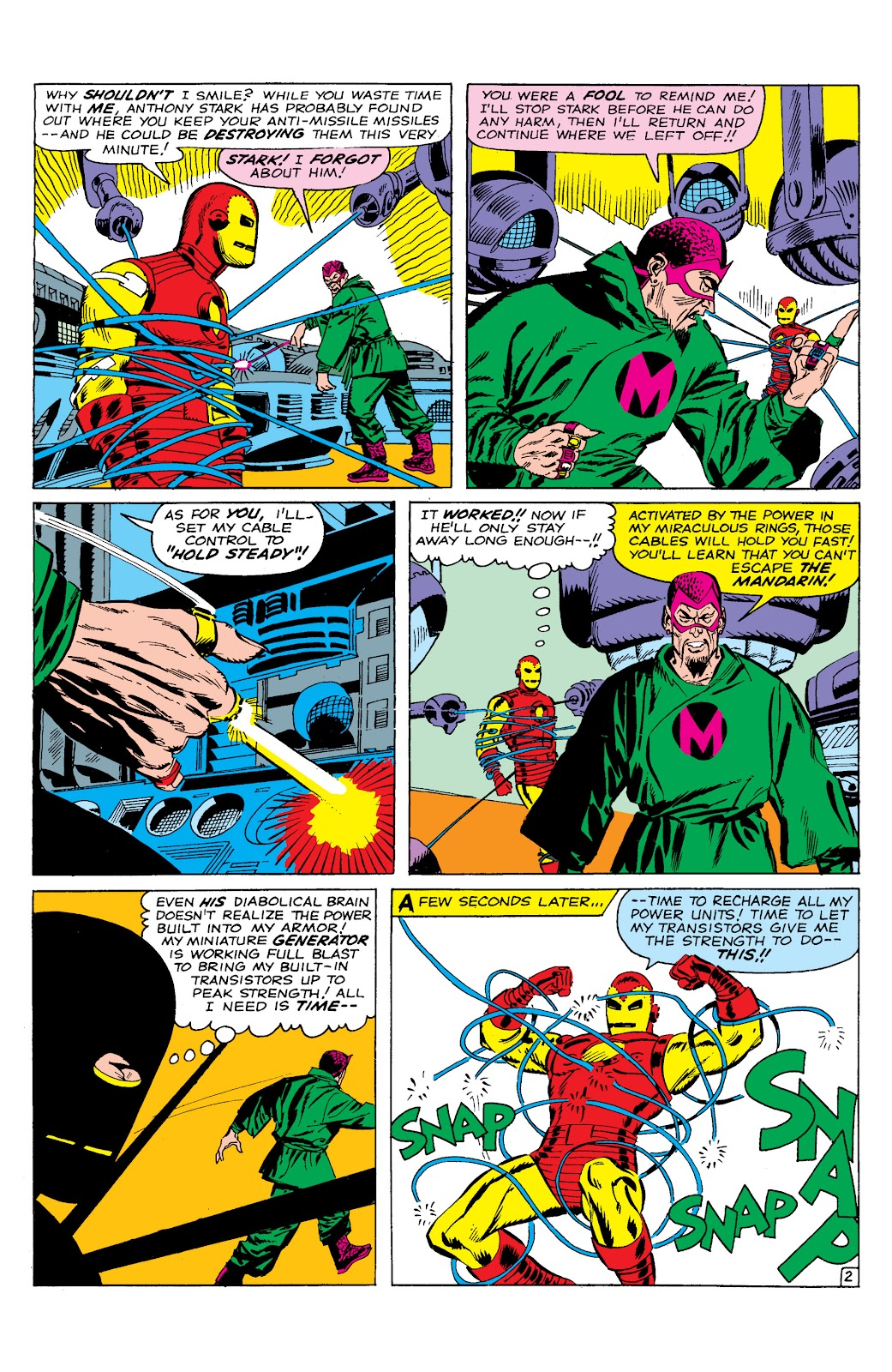 Read online Marvel Masterworks: The Invincible Iron Man comic -  Issue # TPB 2 (Part 1) - 63