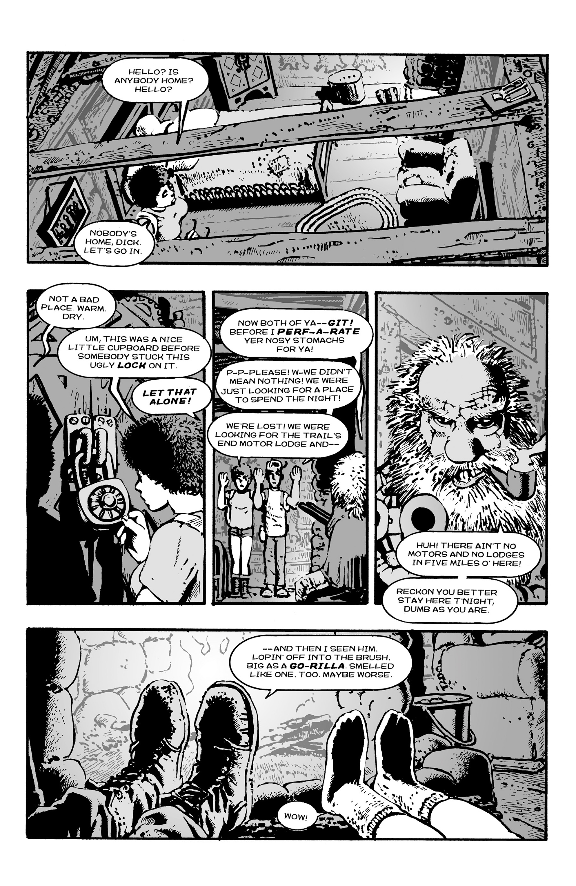Read online Shadows on the Grave comic -  Issue #3 - 18