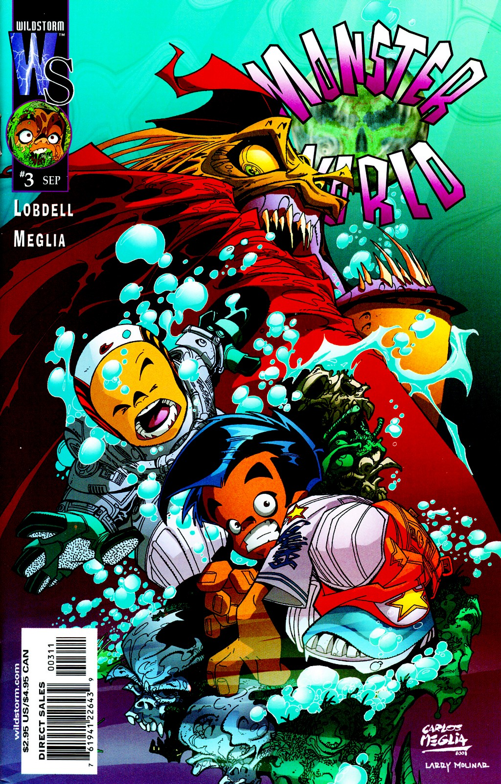 Read online Monster World (Existed) comic -  Issue #3 - 1