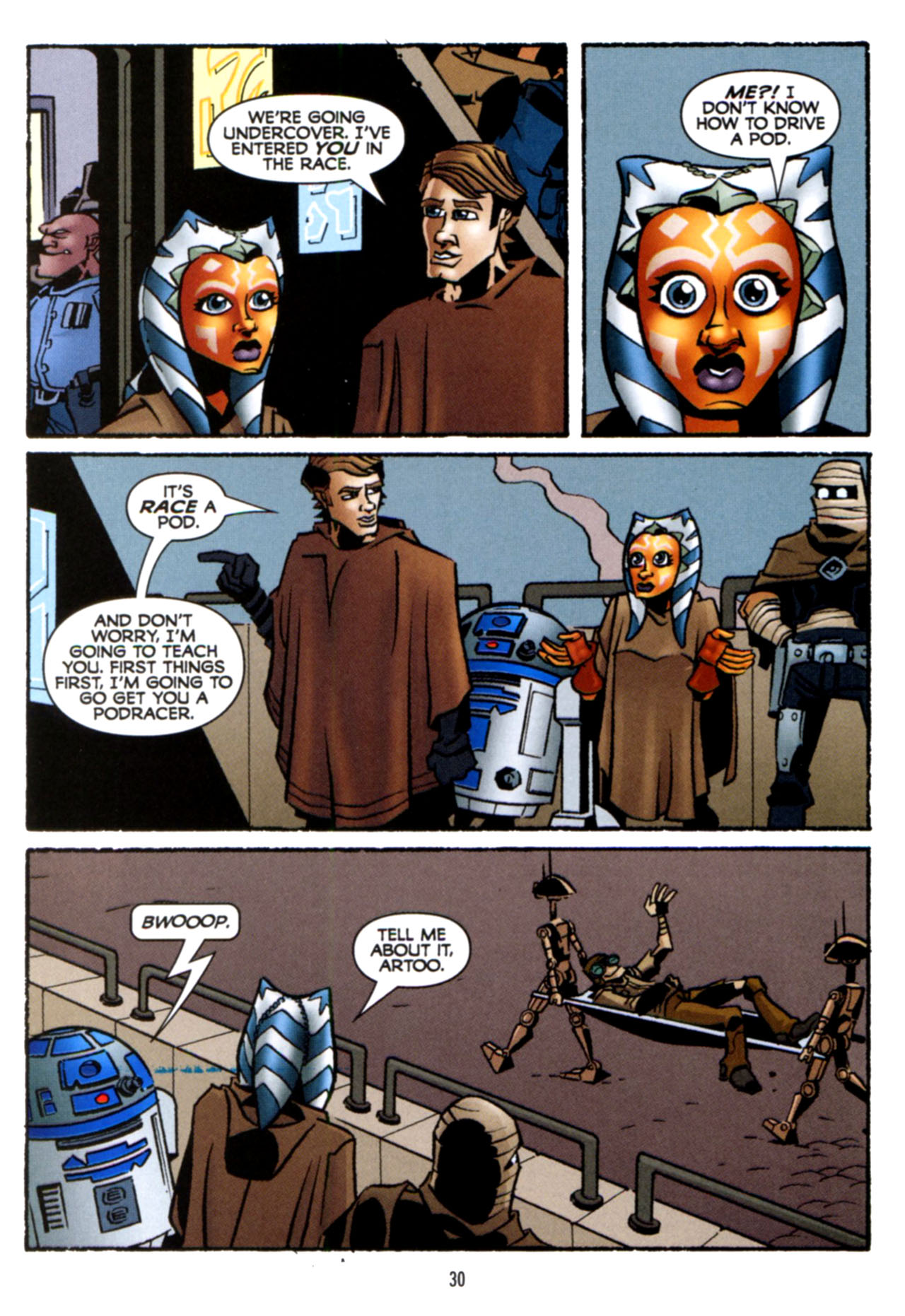 Read online Star Wars: The Clone Wars - Crash Course comic -  Issue # Full - 31
