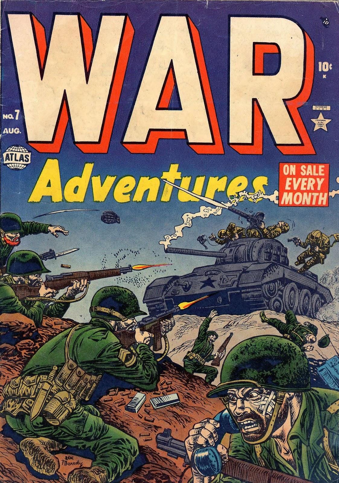 War Adventures issue 7 - Page 1