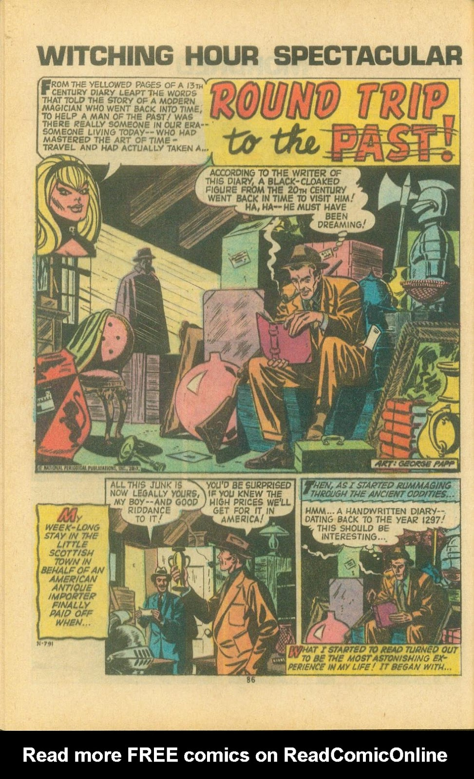 The Witching Hour (1969) issue 38 - Page 88