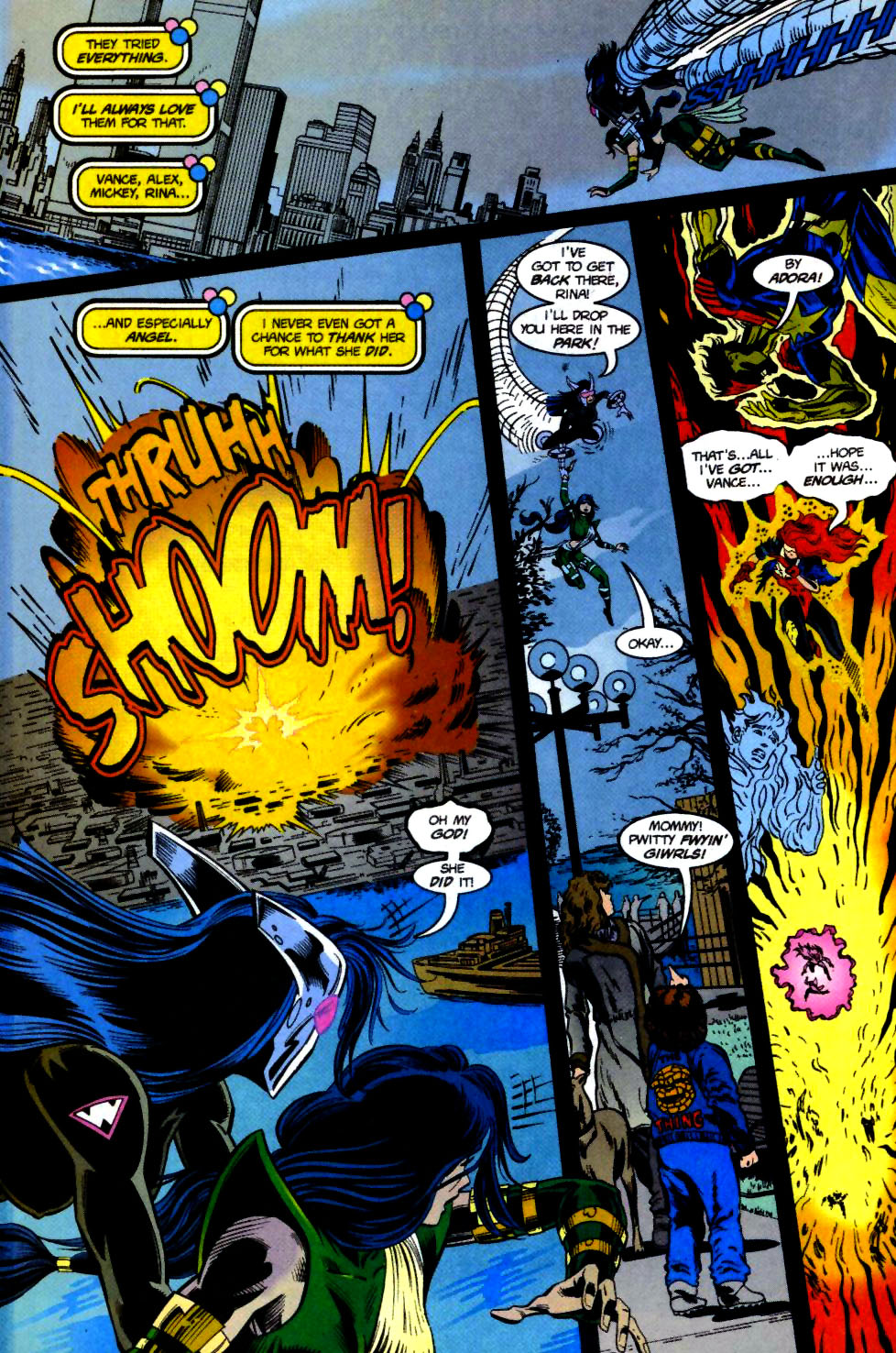 The New Warriors Issue #69 #73 - English 15