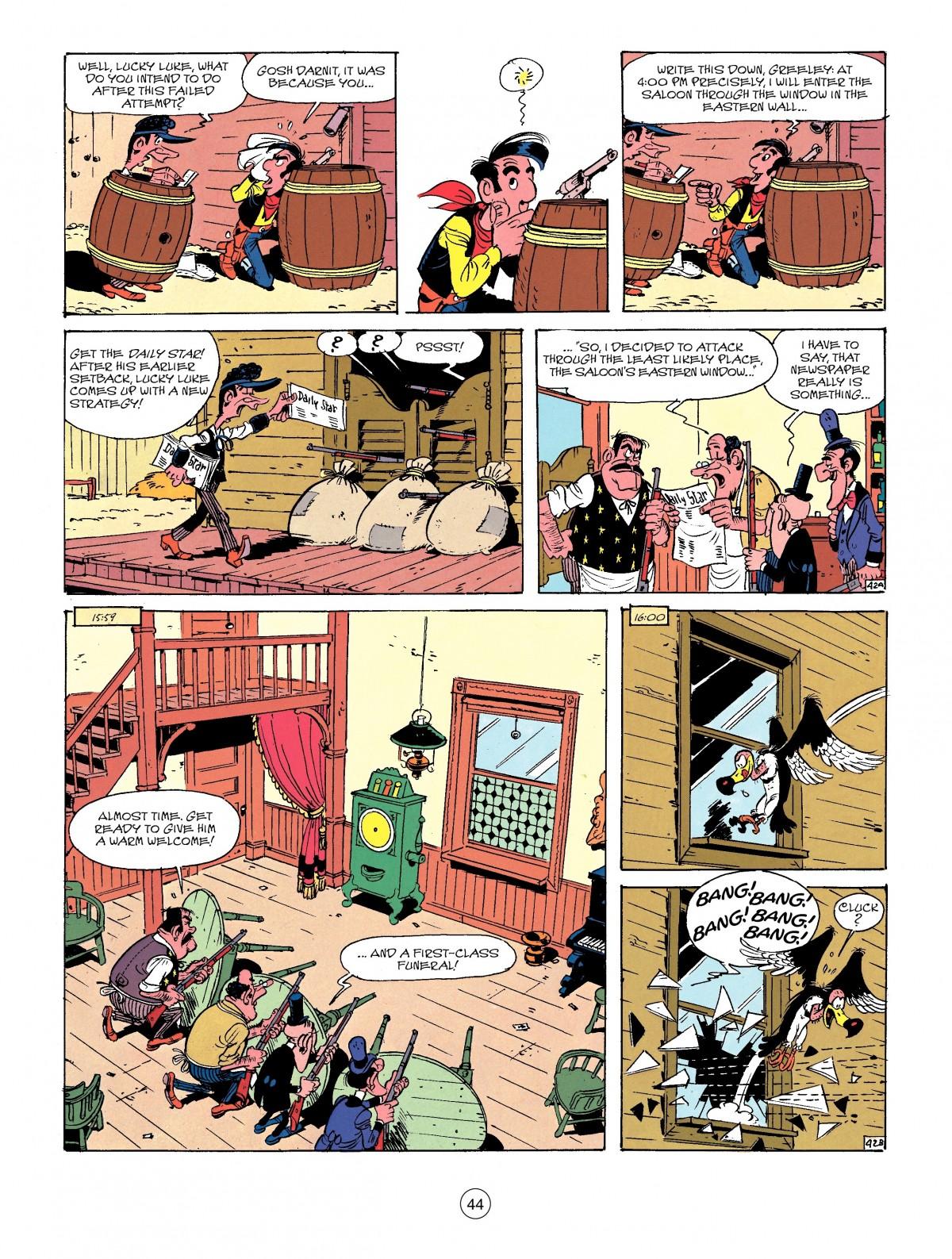 Read online A Lucky Luke Adventure comic -  Issue #41 - 44