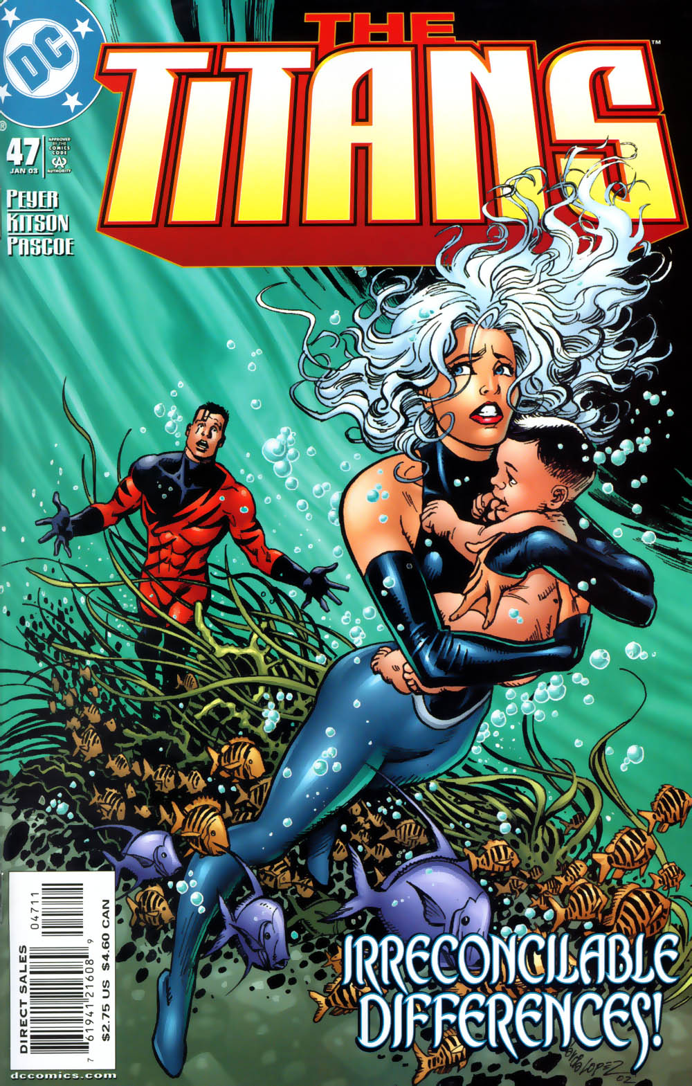 Read online The Titans (1999) comic -  Issue #47 - 1