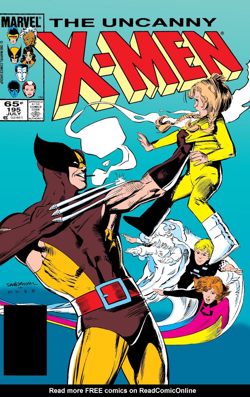 Uncanny X-Men (1963) issue 195 - Page 1