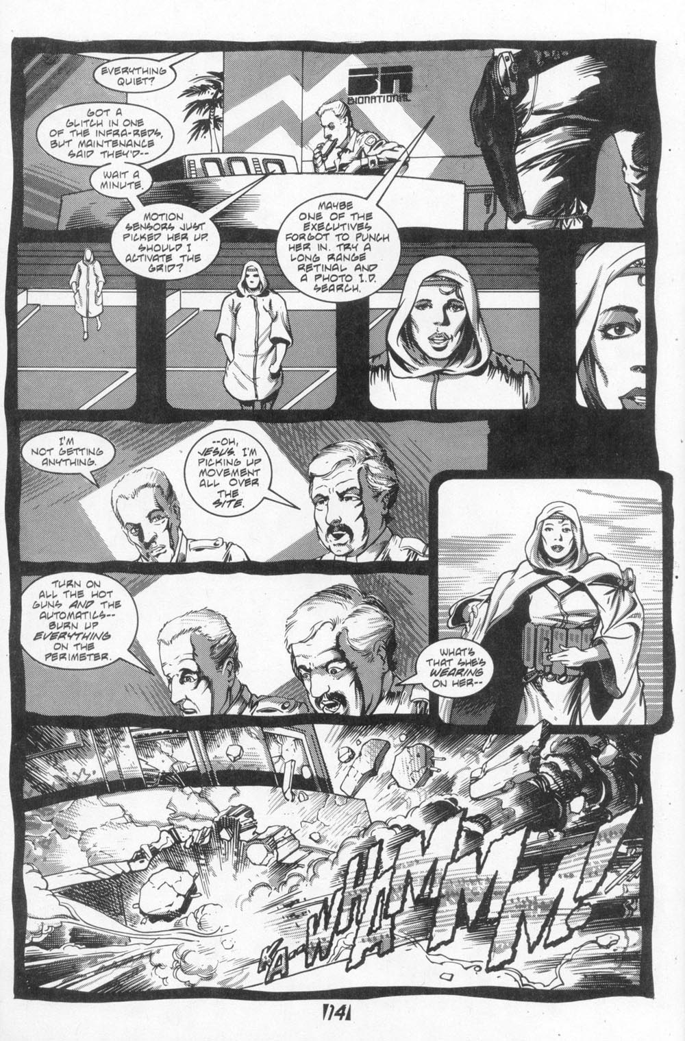 Read online Aliens (1988) comic -  Issue #4 - 16