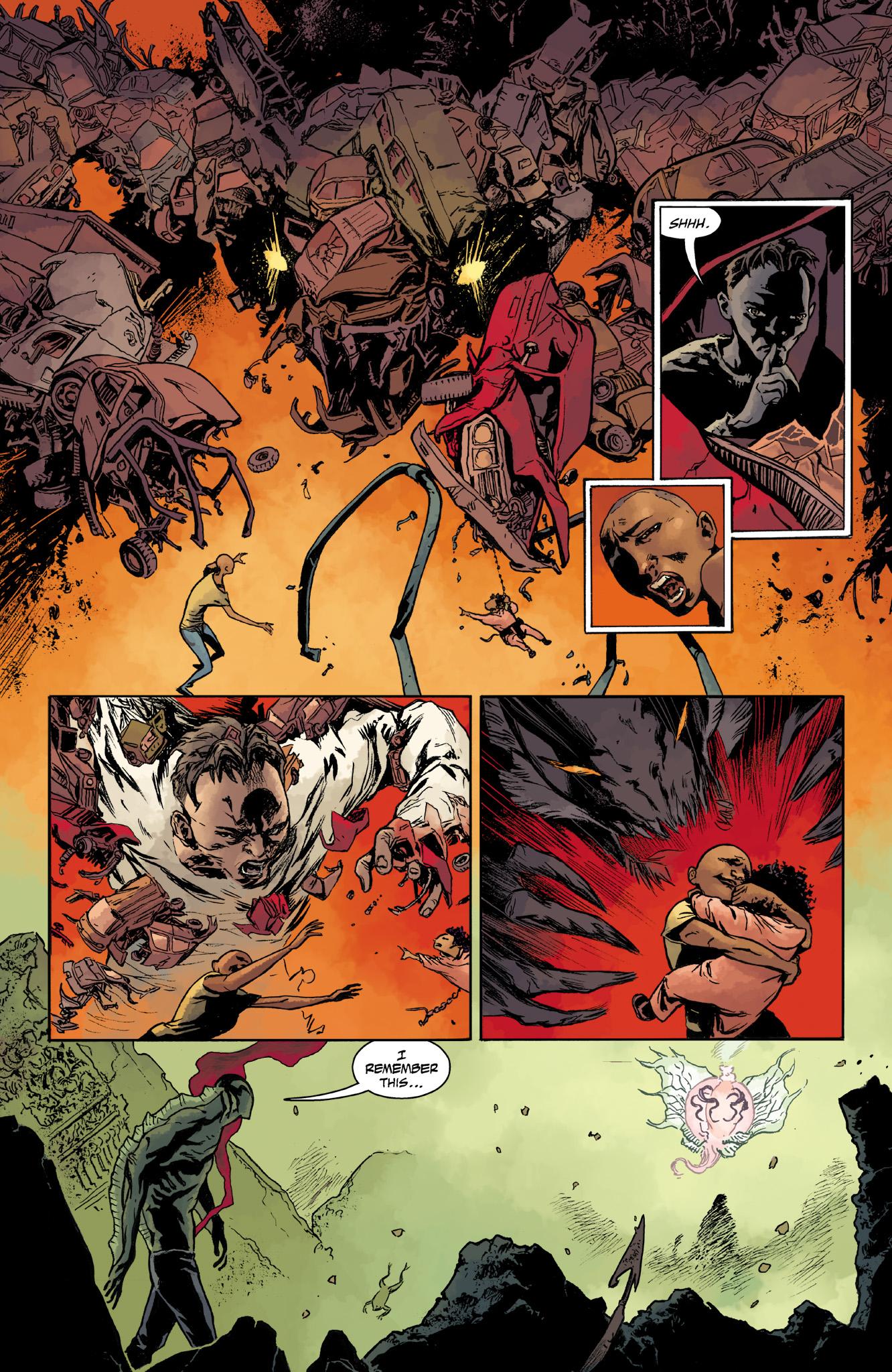 Read online Abe Sapien comic -  Issue #14 - 20