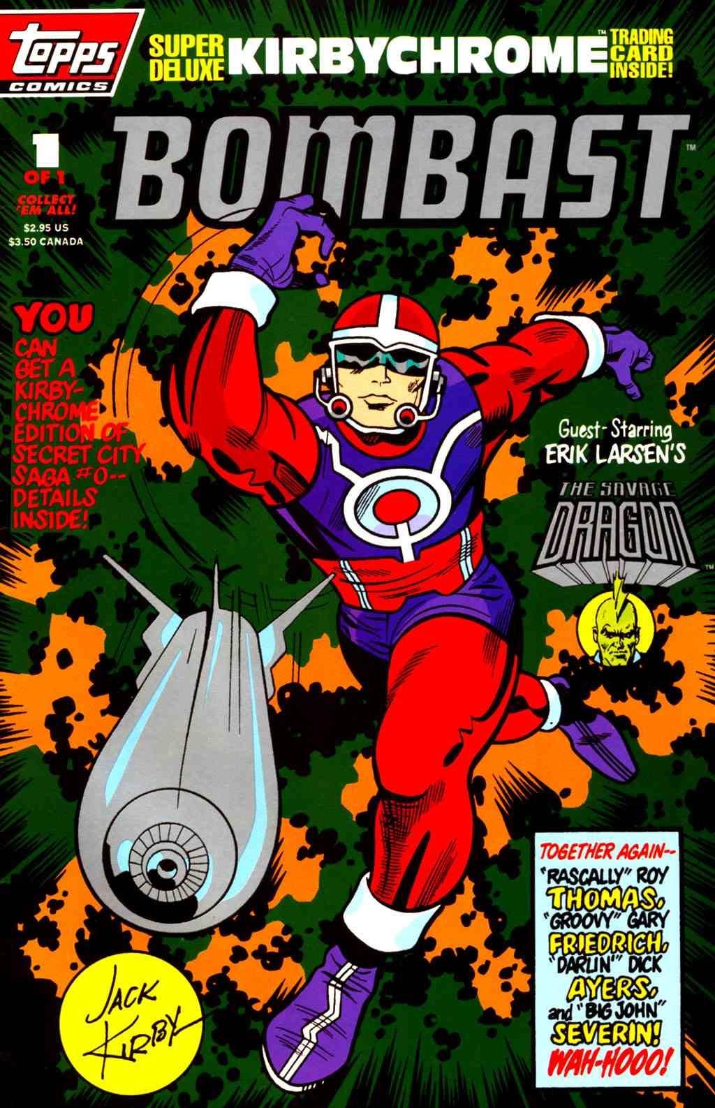 Read online Bombast comic -  Issue # Full - 1