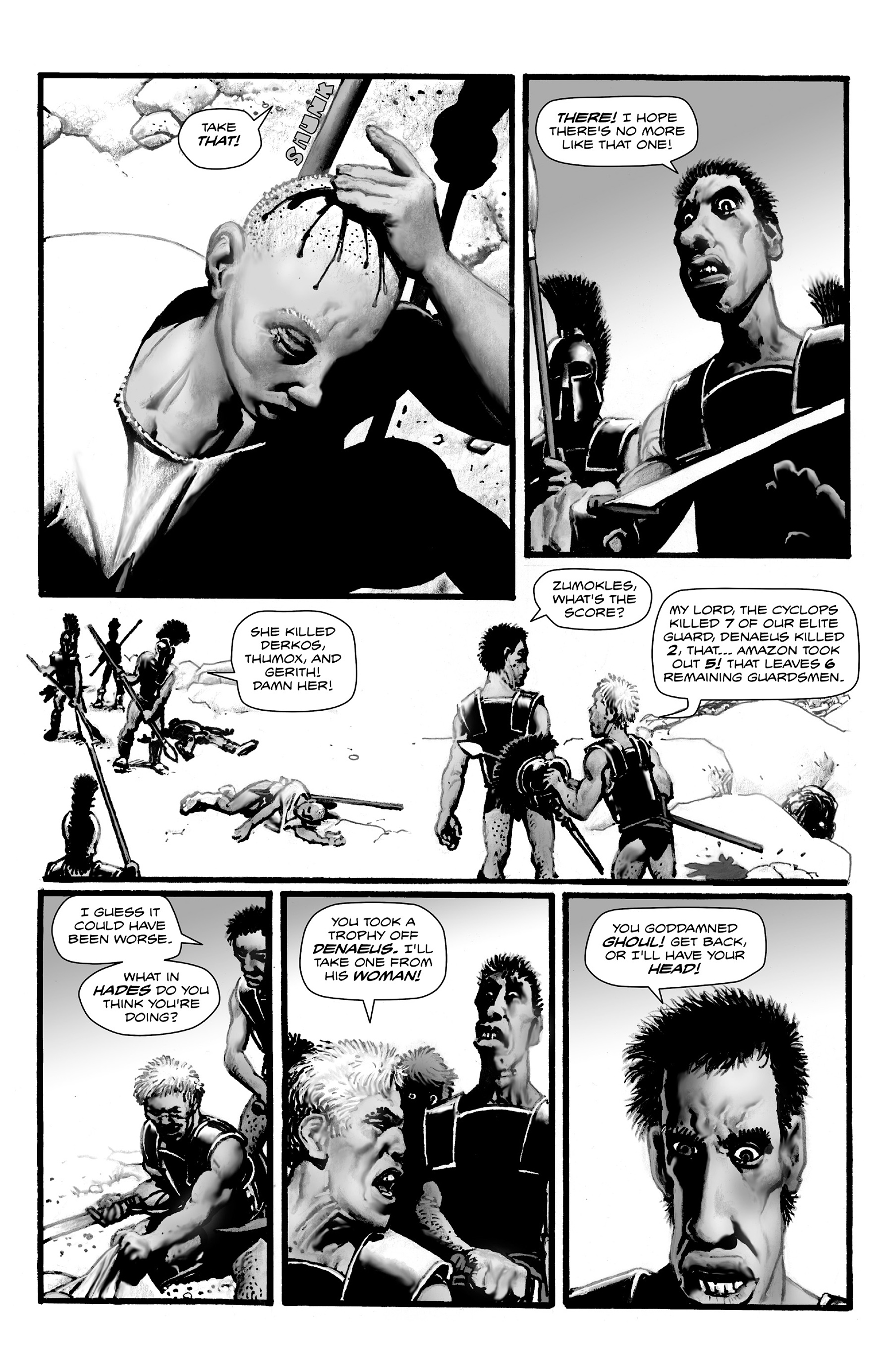 Read online Shadows on the Grave comic -  Issue #4 - 33