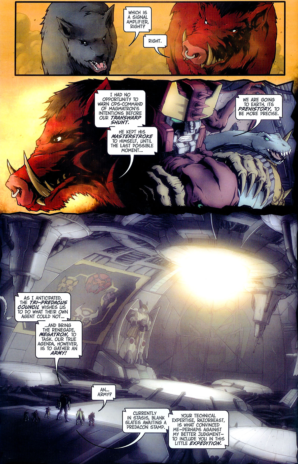 Read online Transformers, Beast Wars: The Gathering comic -  Issue #2 - 7