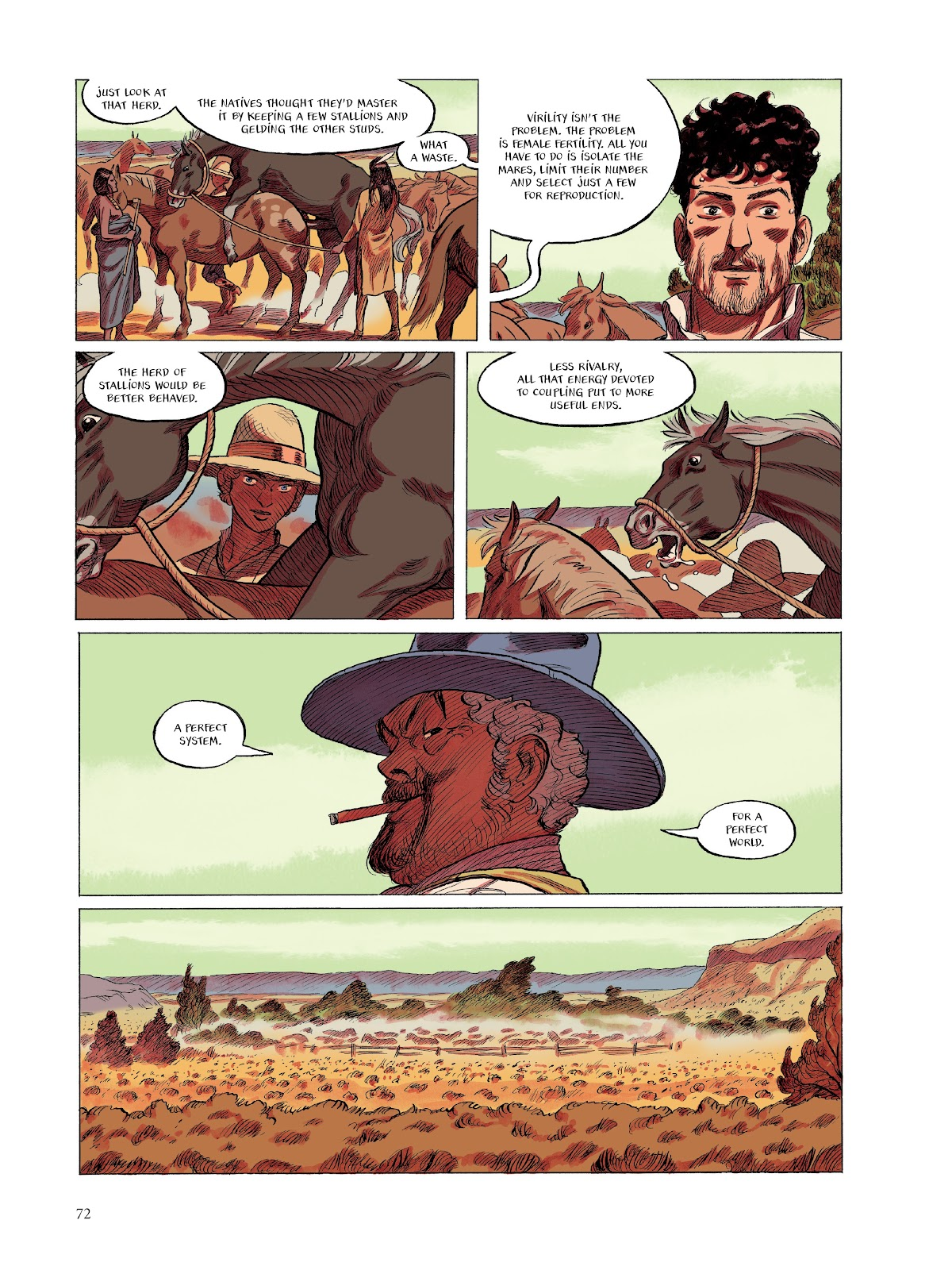 Read online The Smell of Starving Boys comic -  Issue # TPB - 73