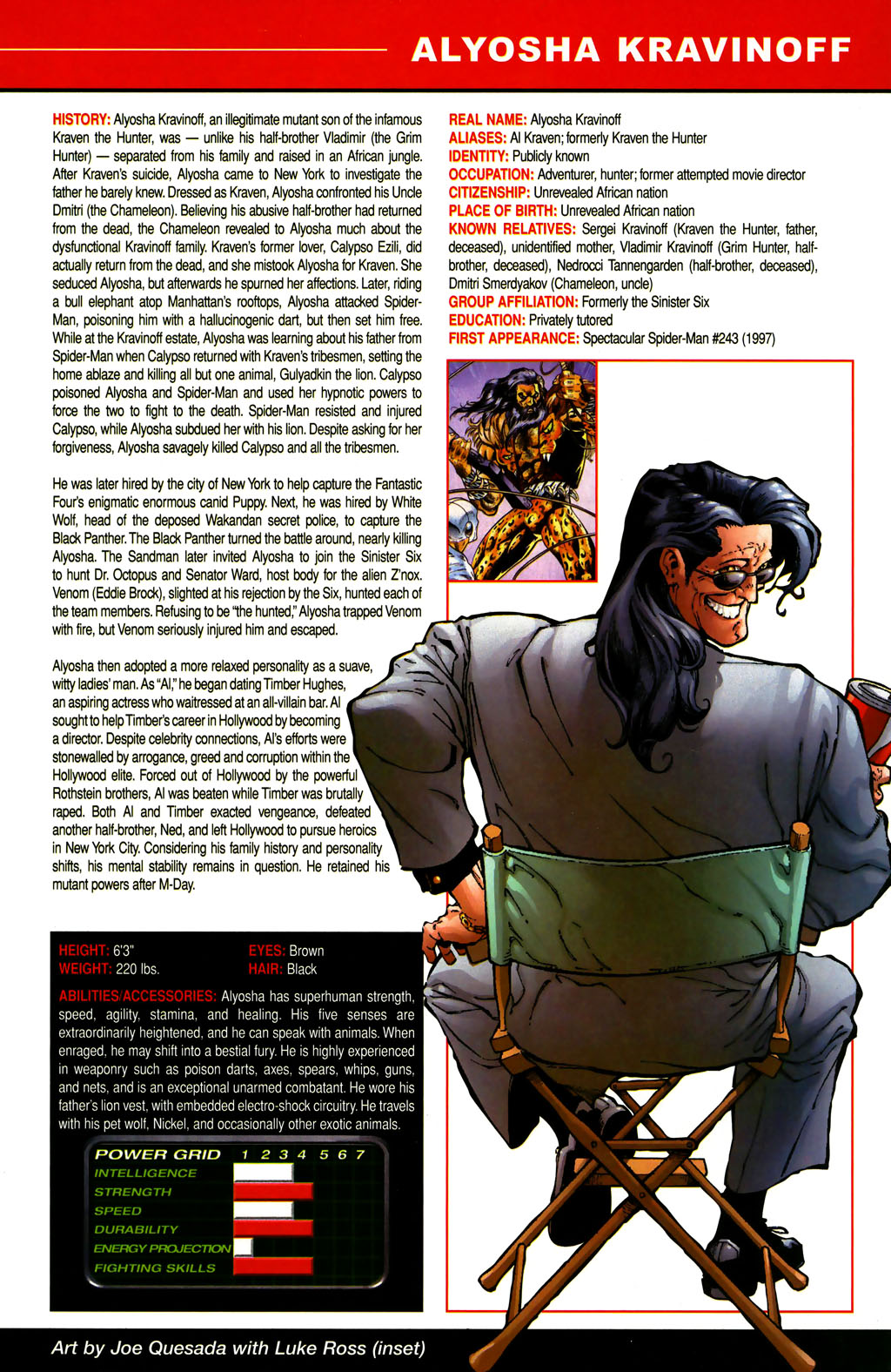 Read online All-New Official Handbook of the Marvel Universe A to Z comic -  Issue #6 - 21