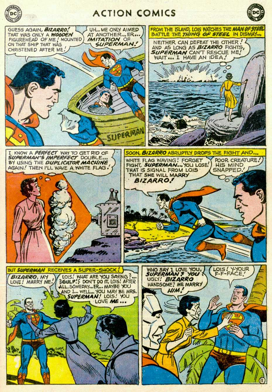 Read online Action Comics (1938) comic -  Issue #255 - 13
