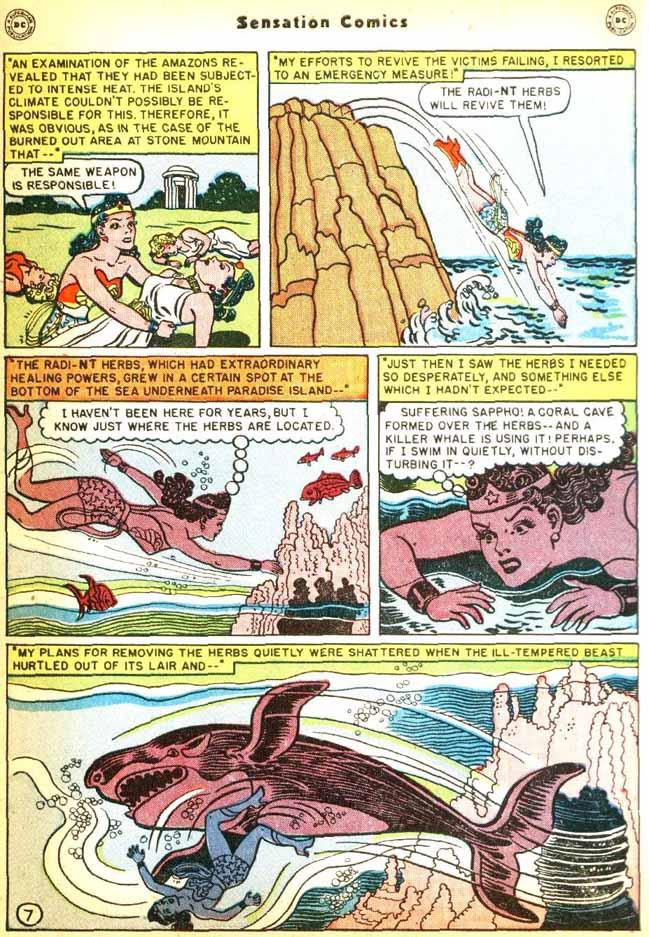 Read online Sensation (Mystery) Comics comic -  Issue #92 - 9