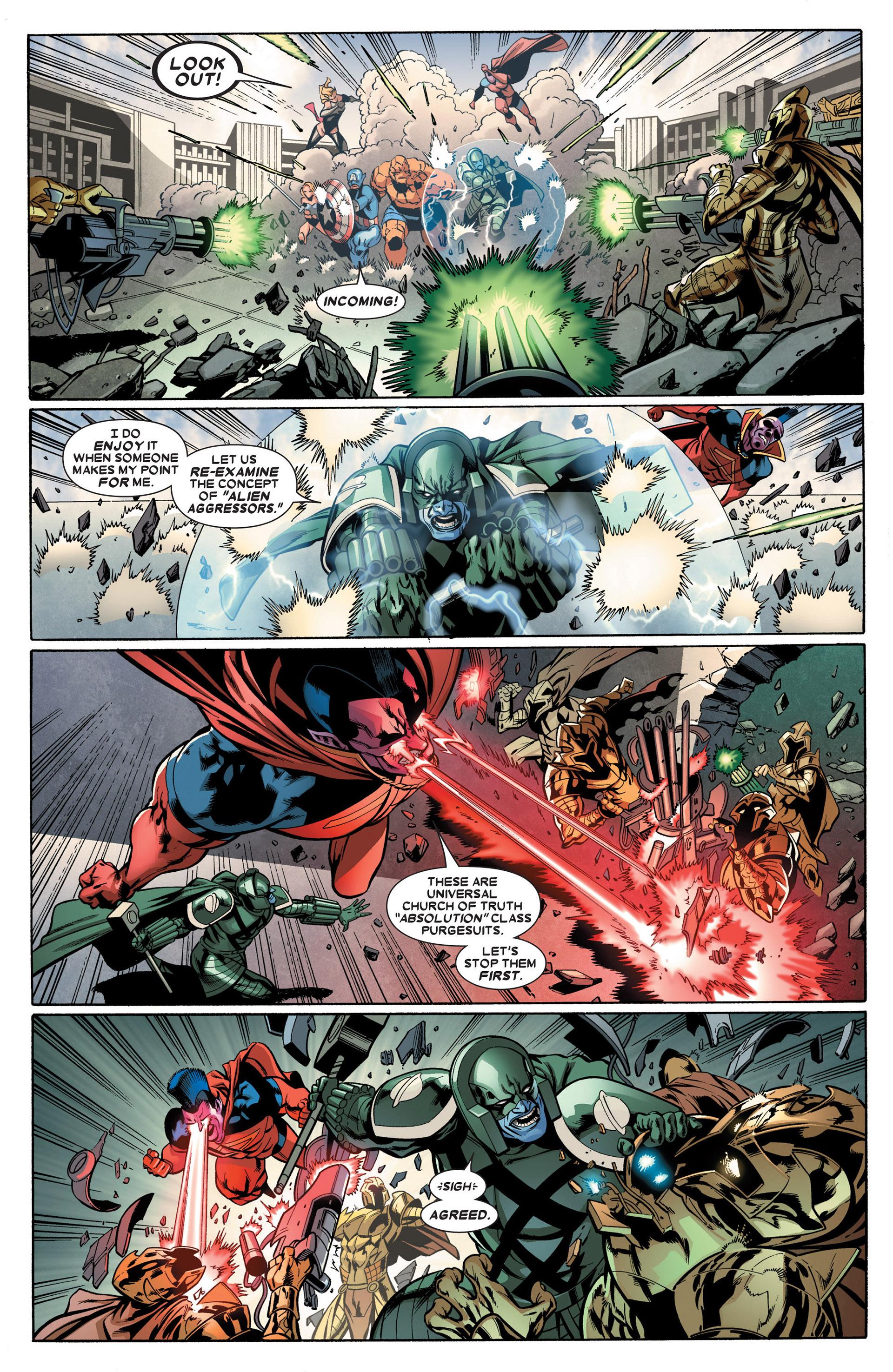 Read online Annihilators: Earthfall comic -  Issue #2 - 16