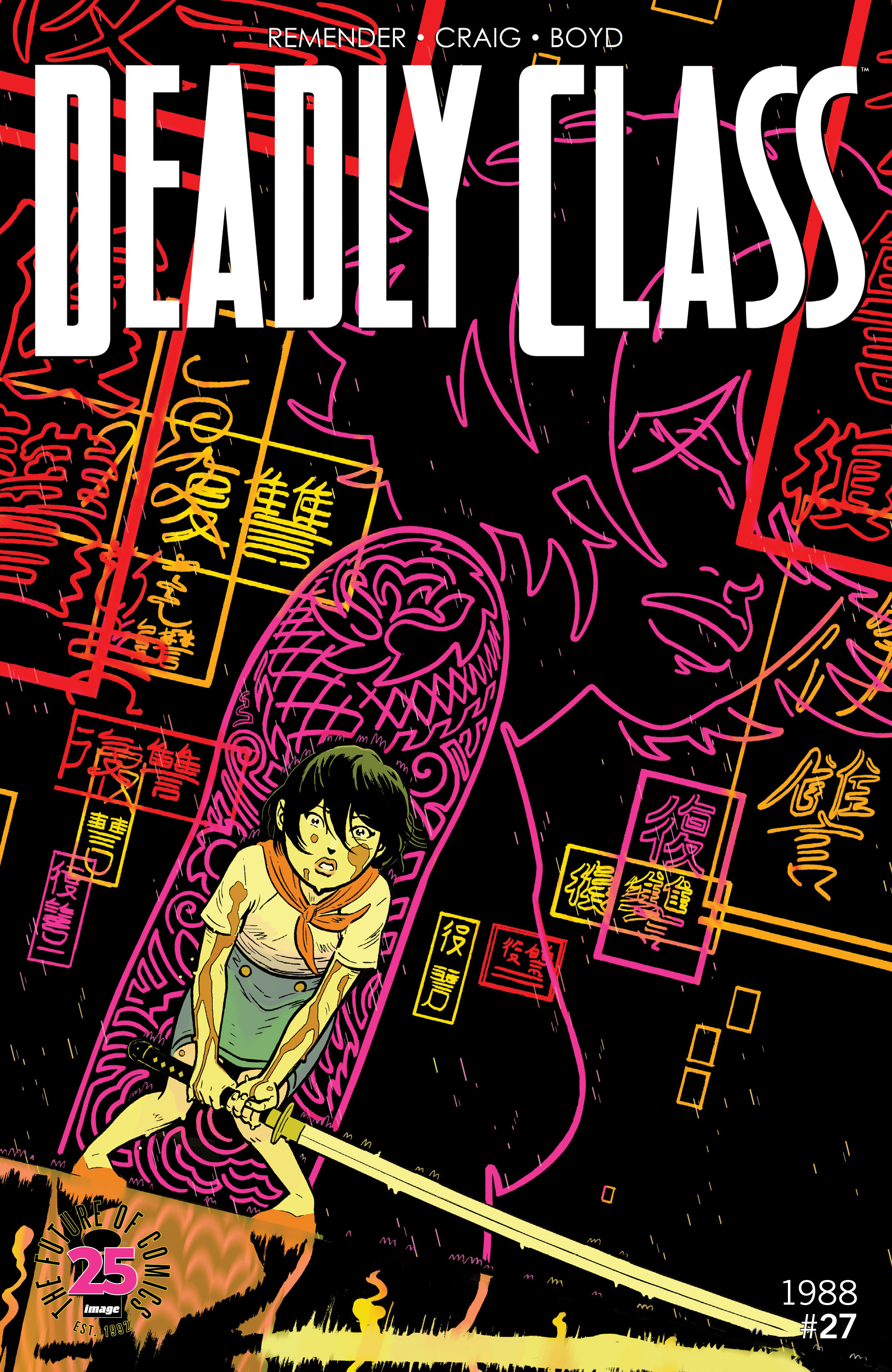 Deadly Class 27 Page 1
