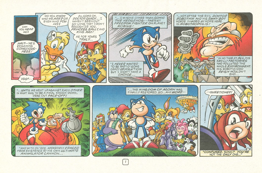 Read online Sonic Super Special comic -  Issue #12 - Sonic and Knuckles visa versa - 4