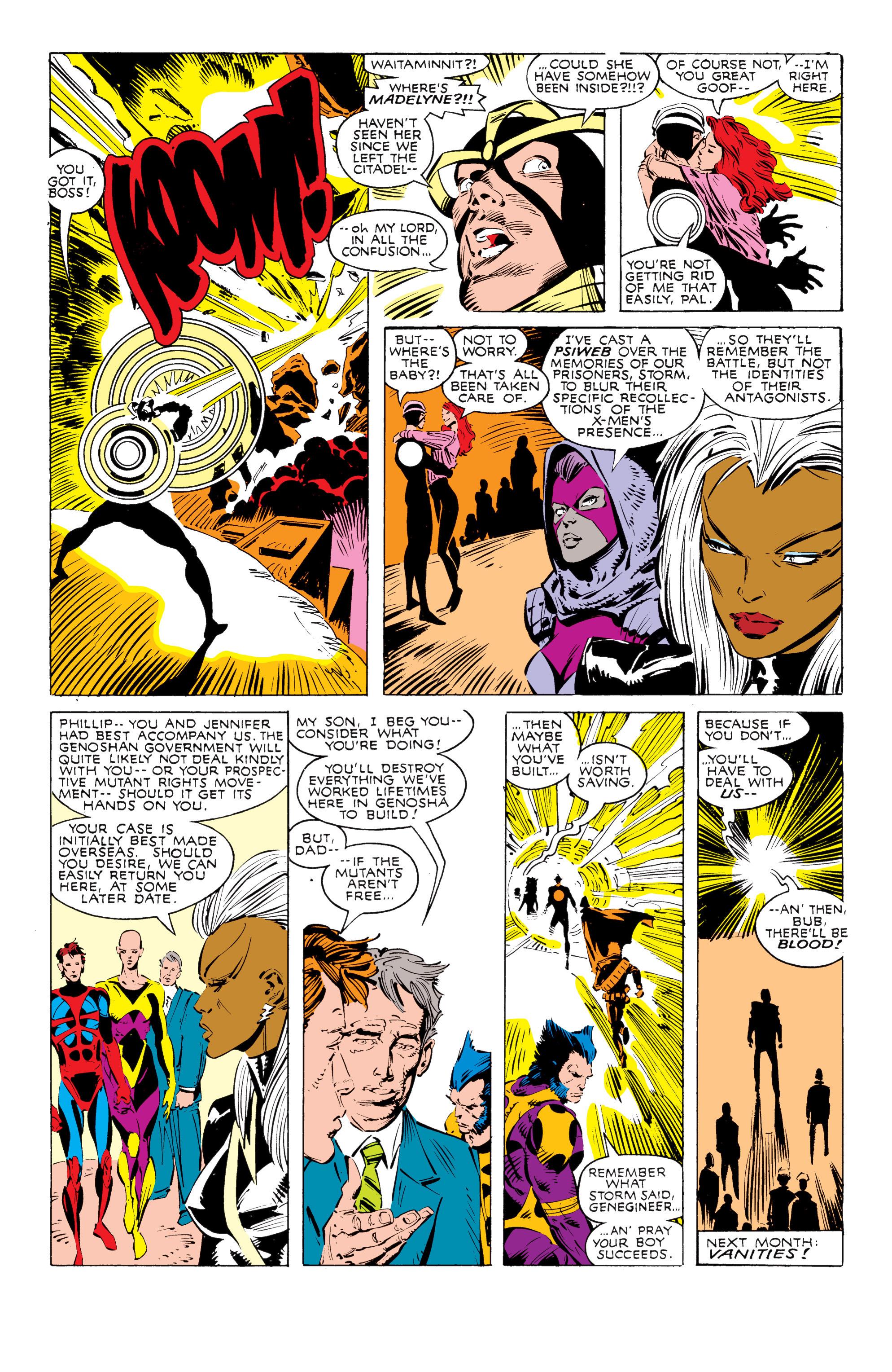 Read online Uncanny X-Men (1963) comic -  Issue #238 - 23