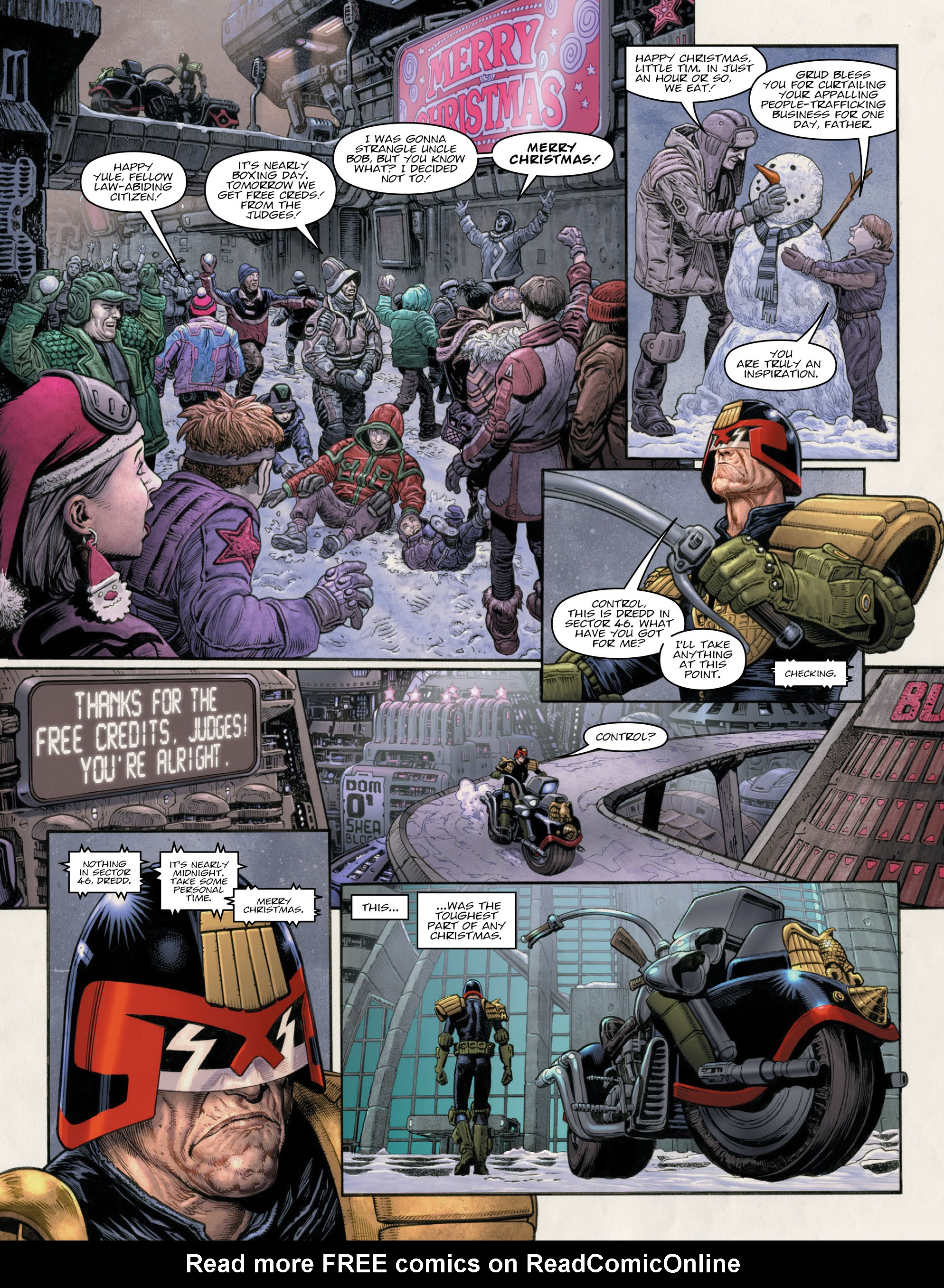 Read online 2000 AD comic -  Issue #2011 - 9