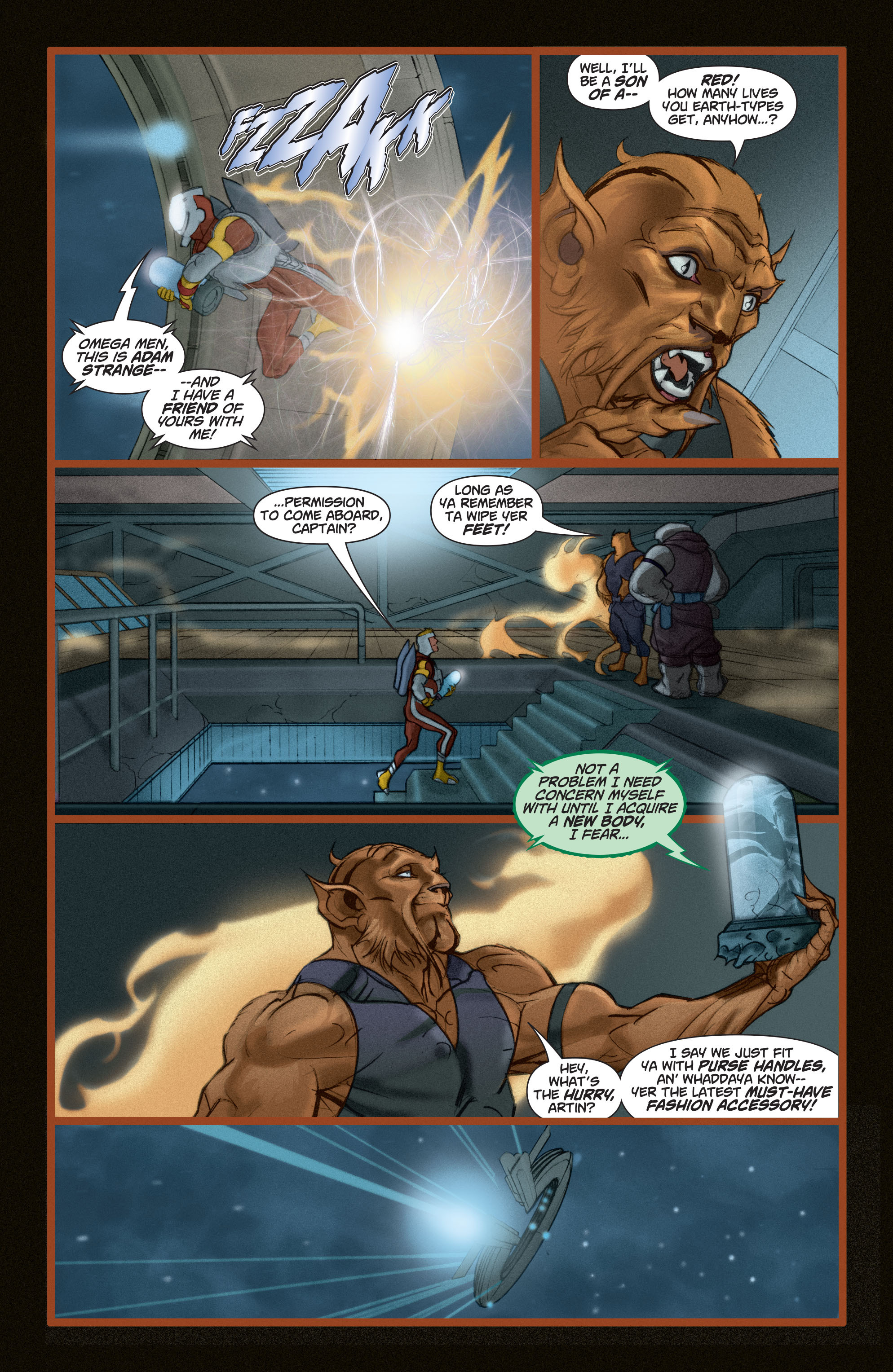 Read online Adam Strange (2004) comic -  Issue #5 - 16