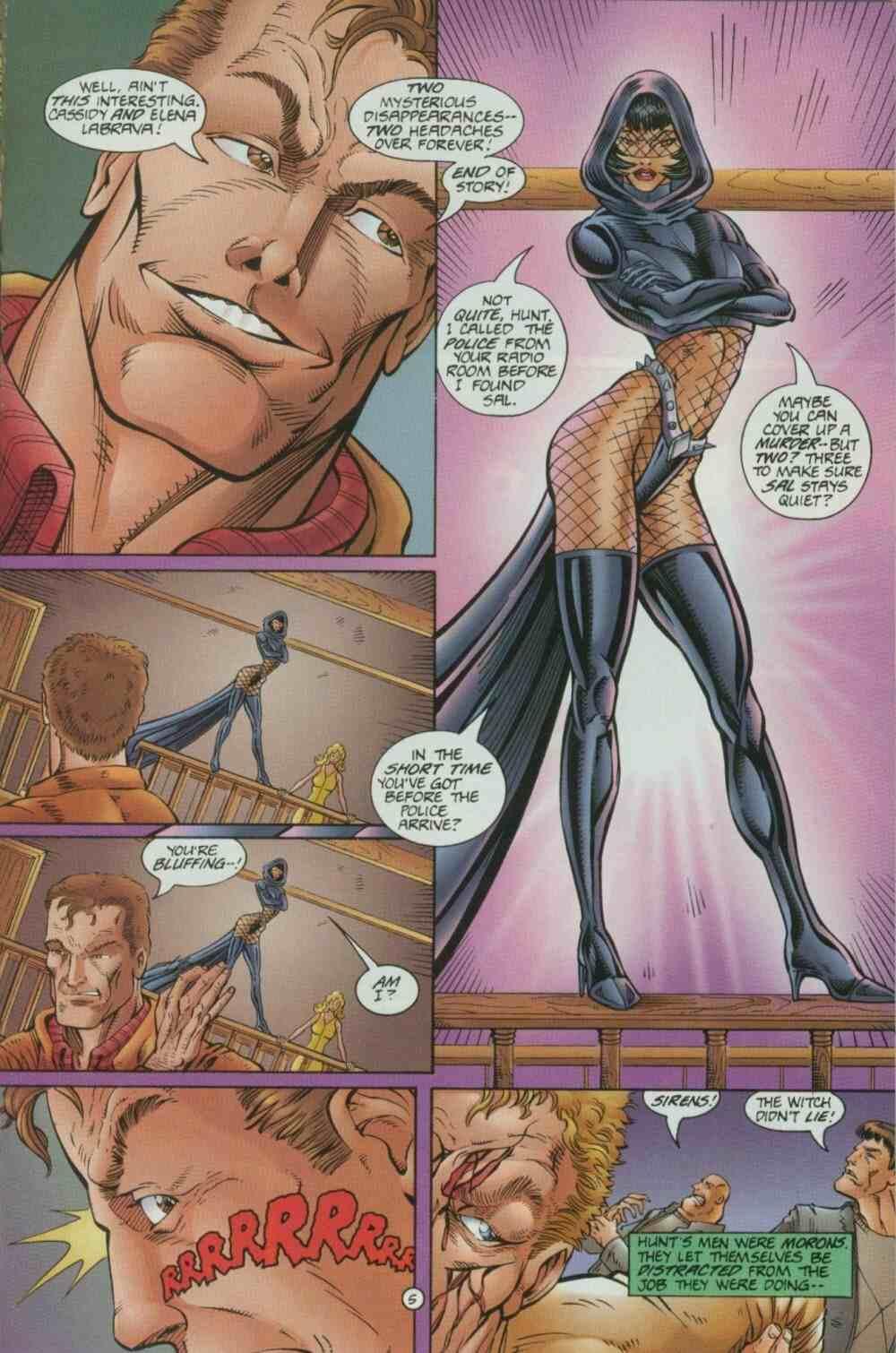 Read online Ultraverse Premiere comic -  Issue #7 - 29