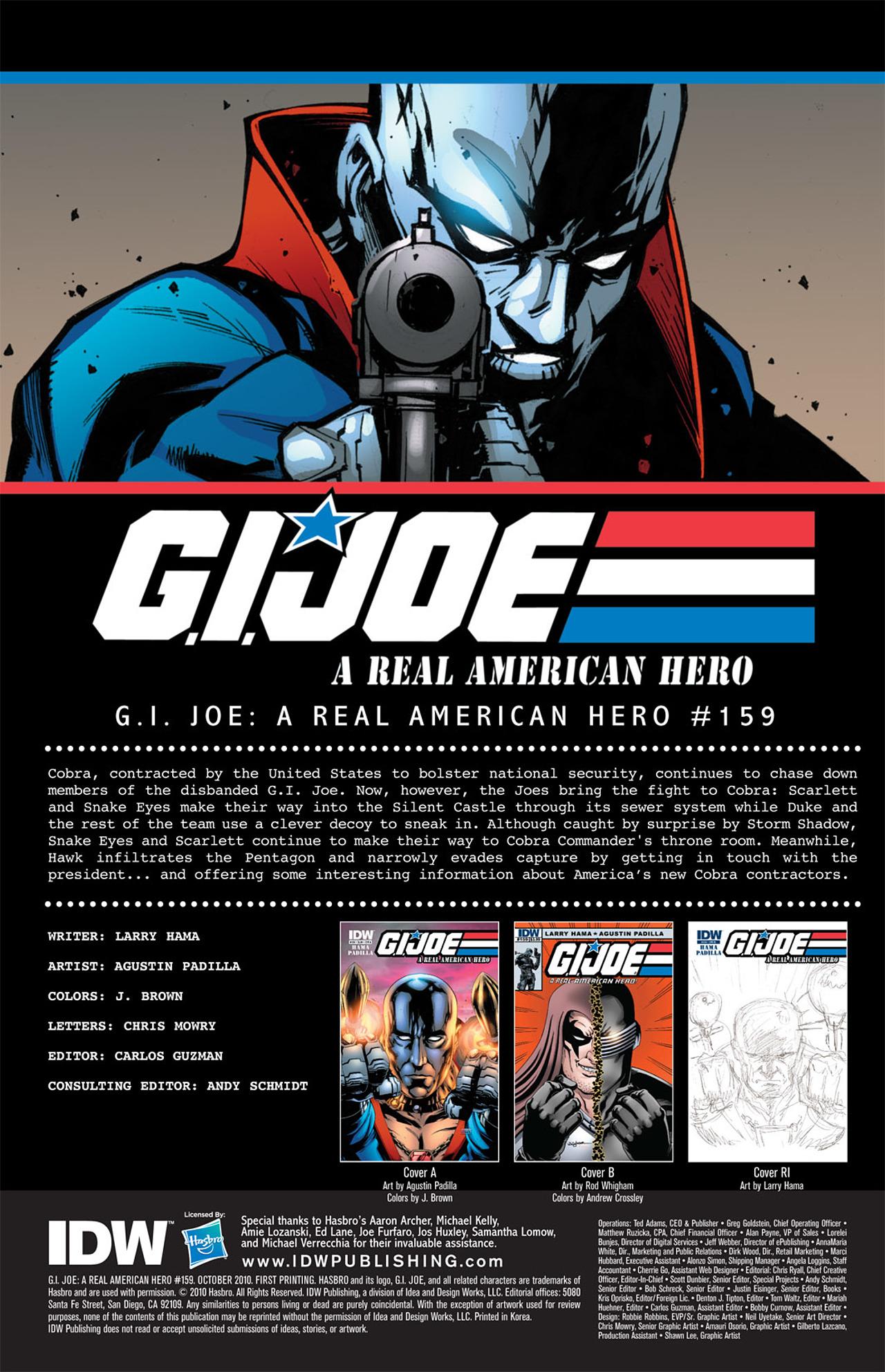 G.I. Joe: A Real American Hero 159 Page 3