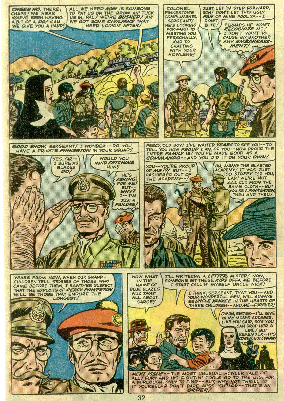 Read online Sgt. Fury comic -  Issue #125 - 34