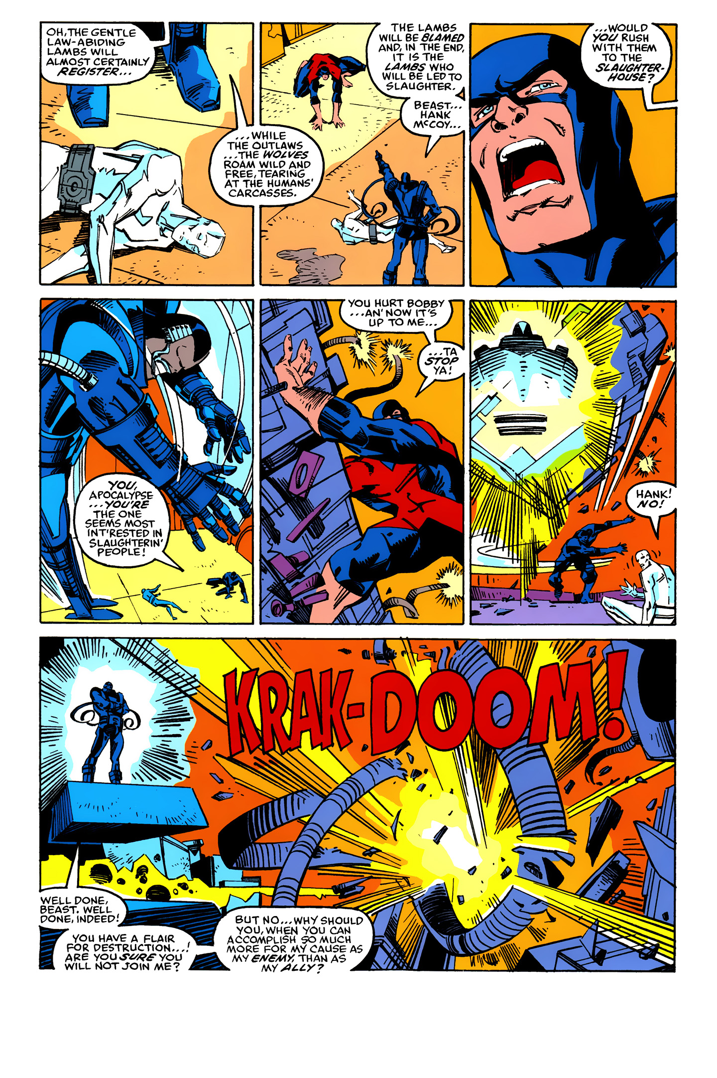 Read online X-Factor (1986) comic -  Issue #25 - 16