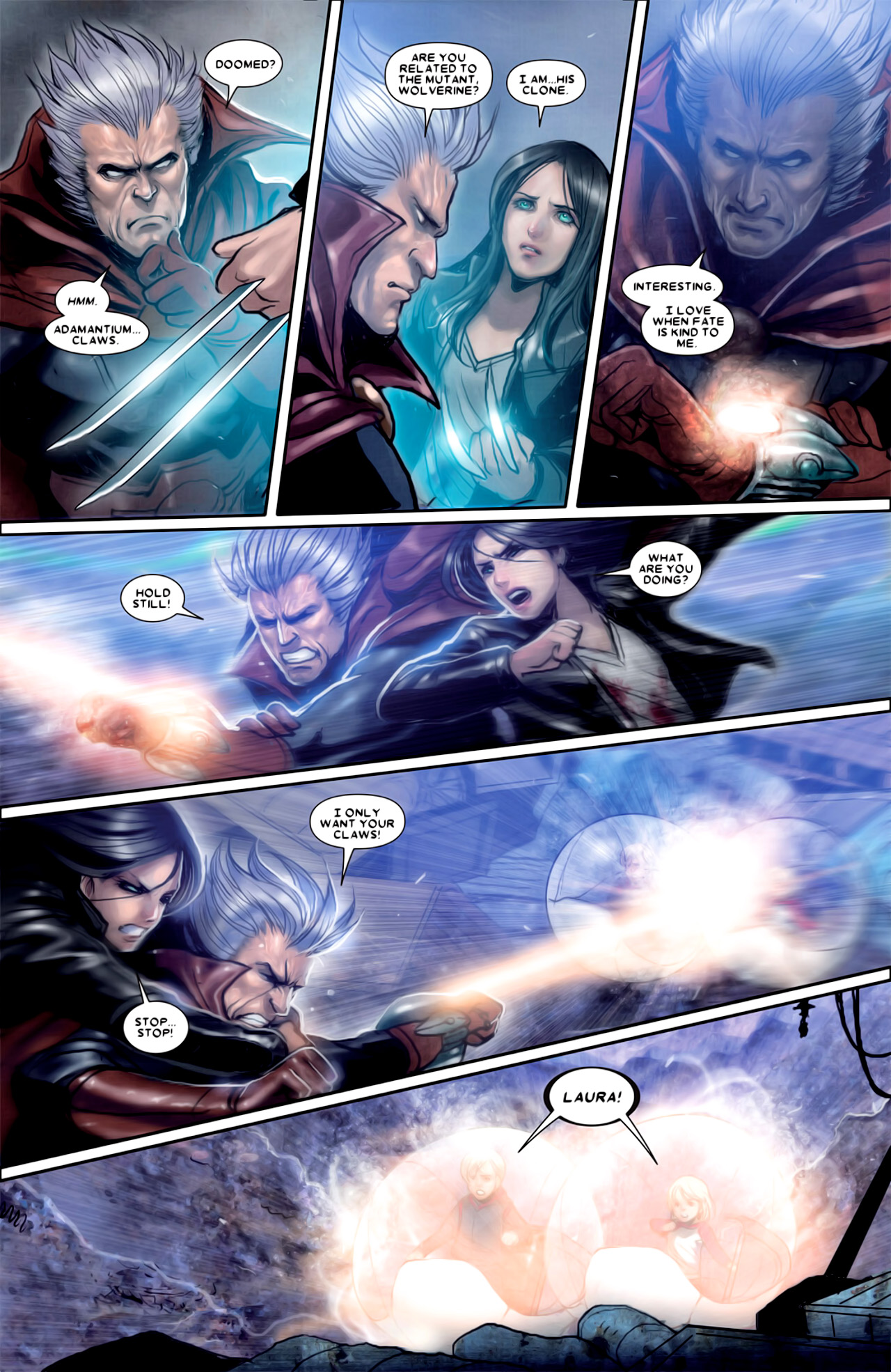 Read online X-23 (2010) comic -  Issue #18 - 20