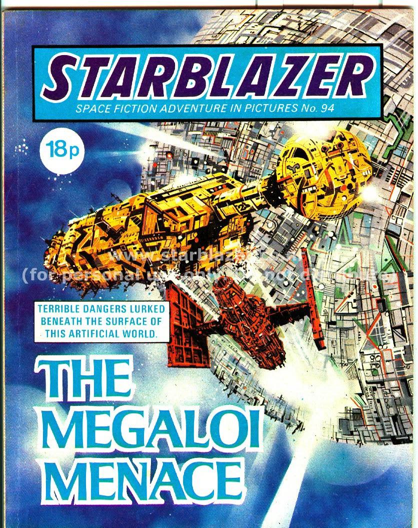Starblazer issue 94 - Page 1