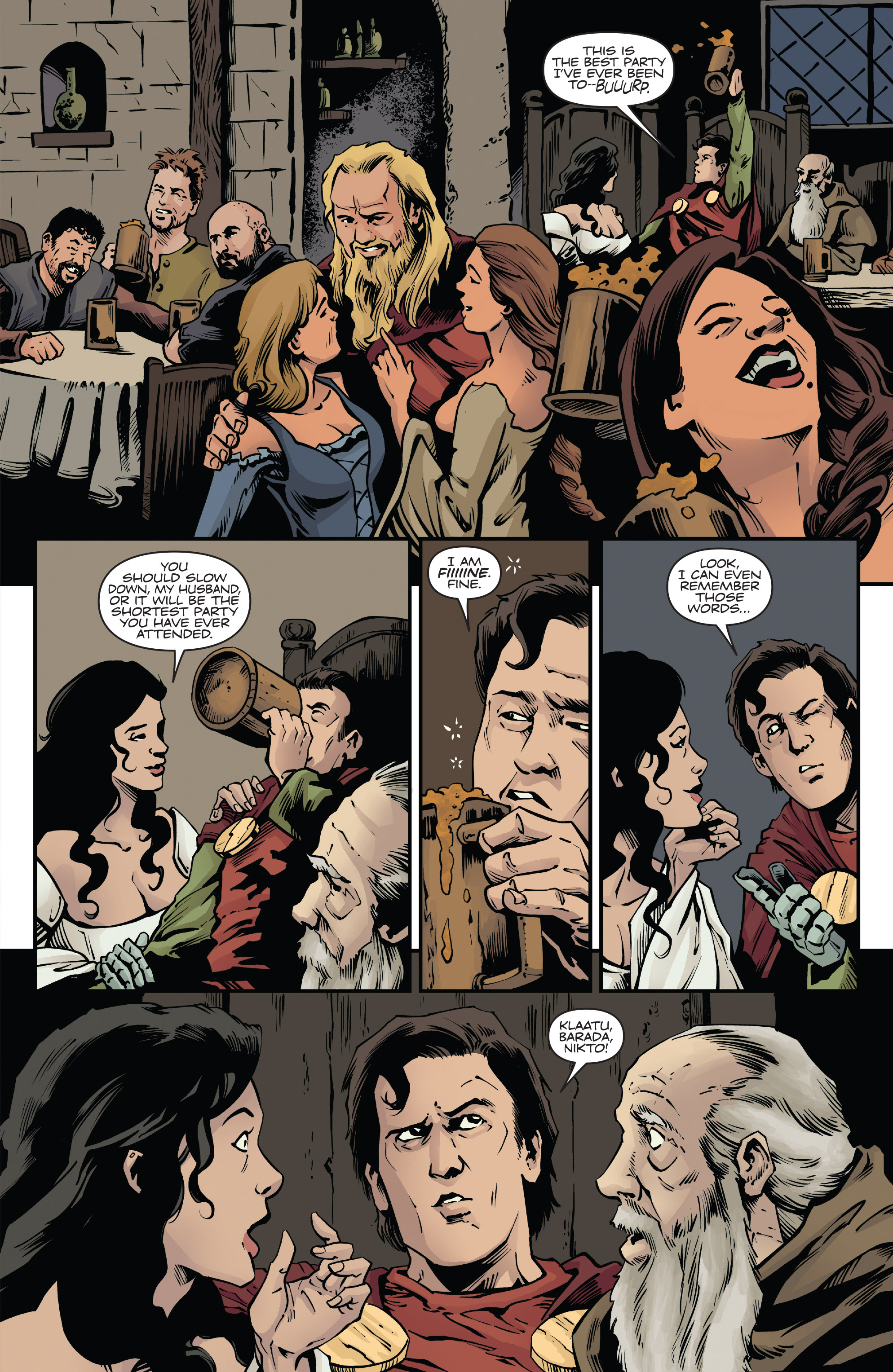 Read online Army of Darkness: Ash Gets Hitched comic -  Issue #4 - 24
