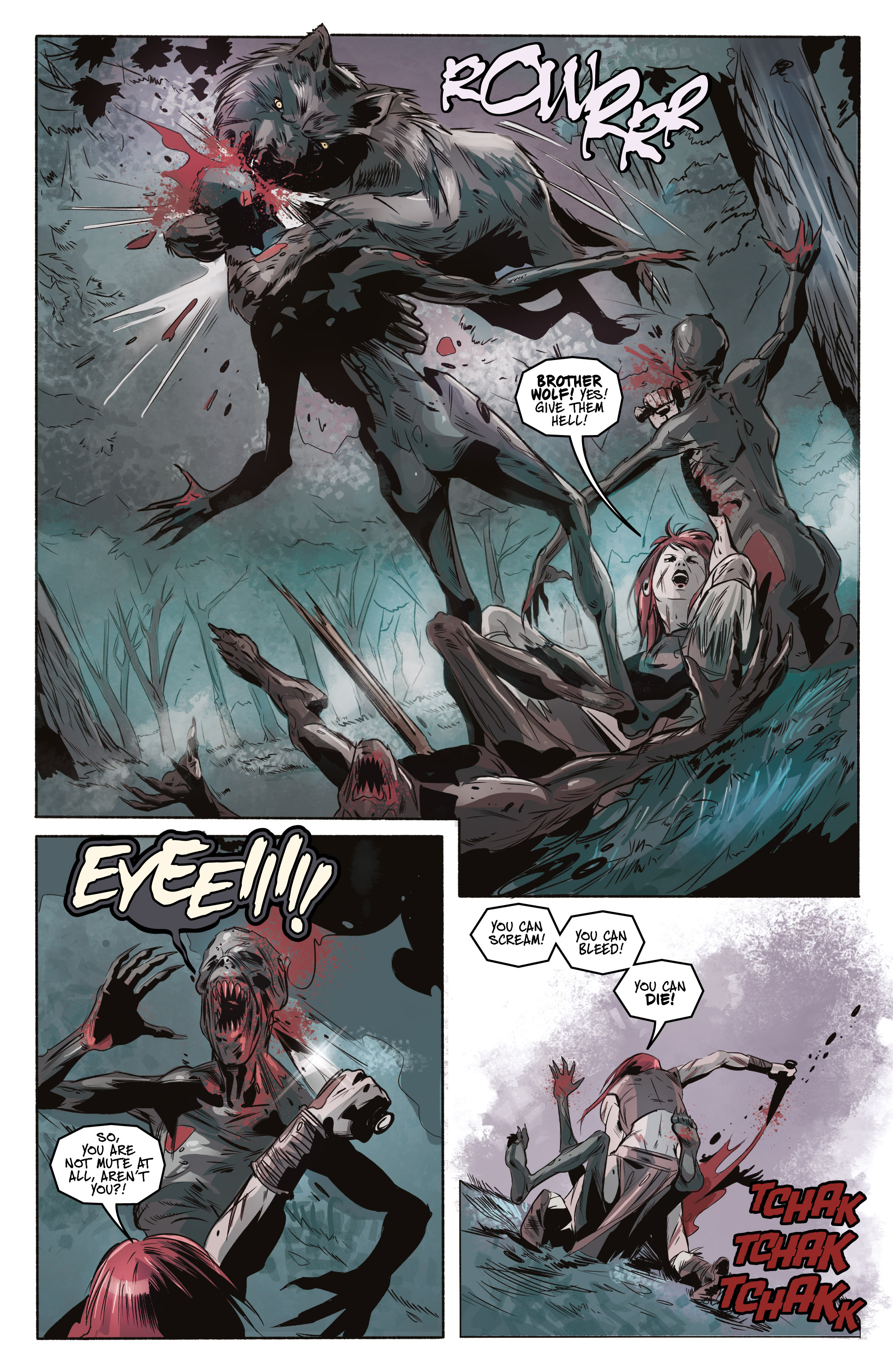 Read online Ghost Wolf comic -  Issue #3 - 24