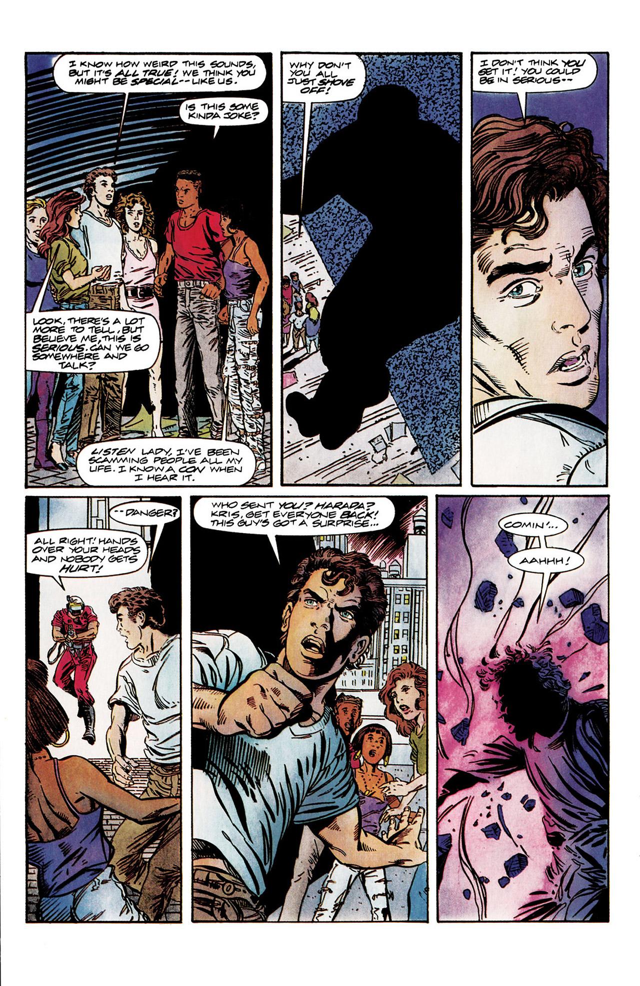 Read online Harbinger (1992) comic -  Issue #10 - 19